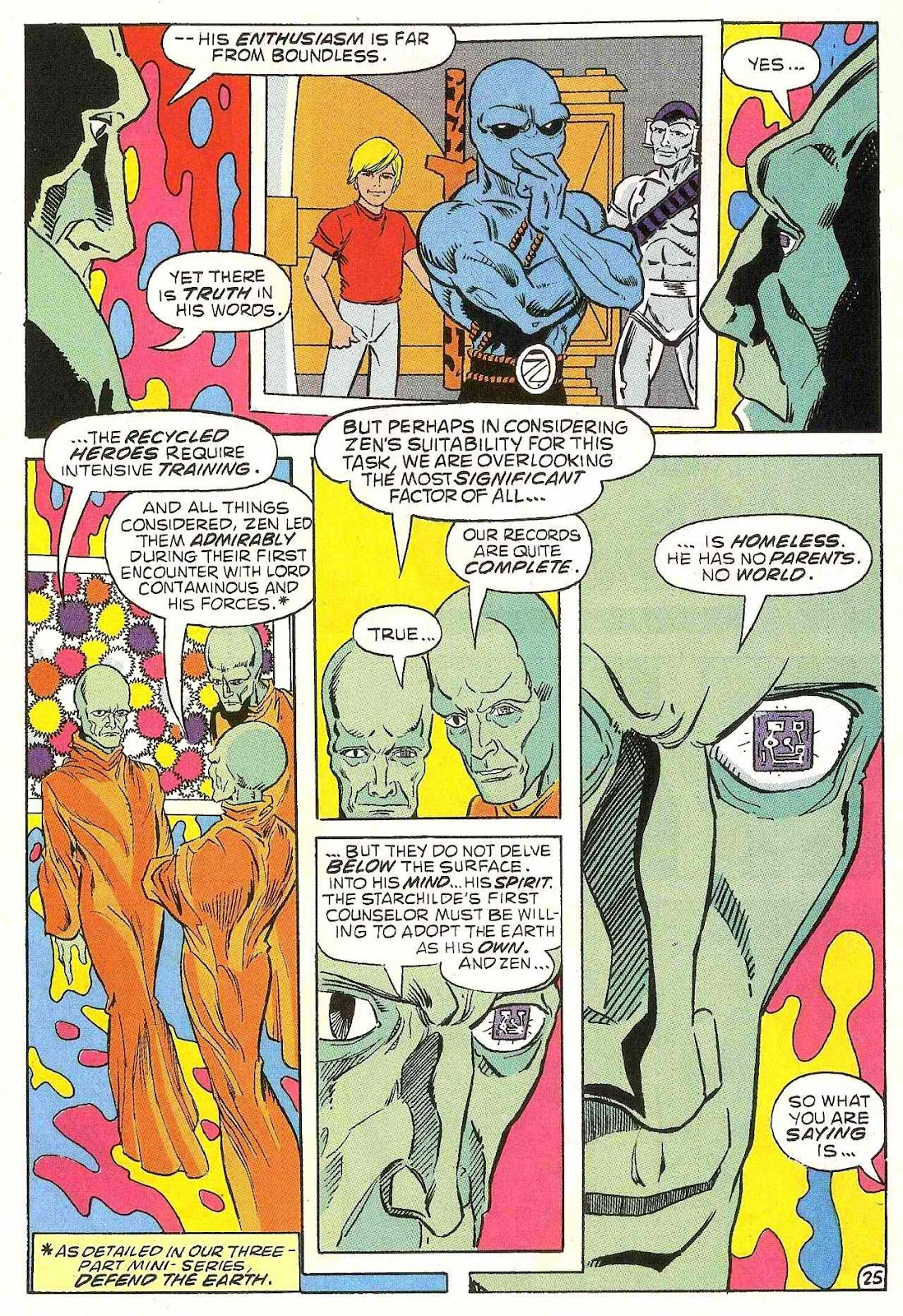 Read online Zen Intergalactic Ninja (1992) comic -  Issue #1 - 26