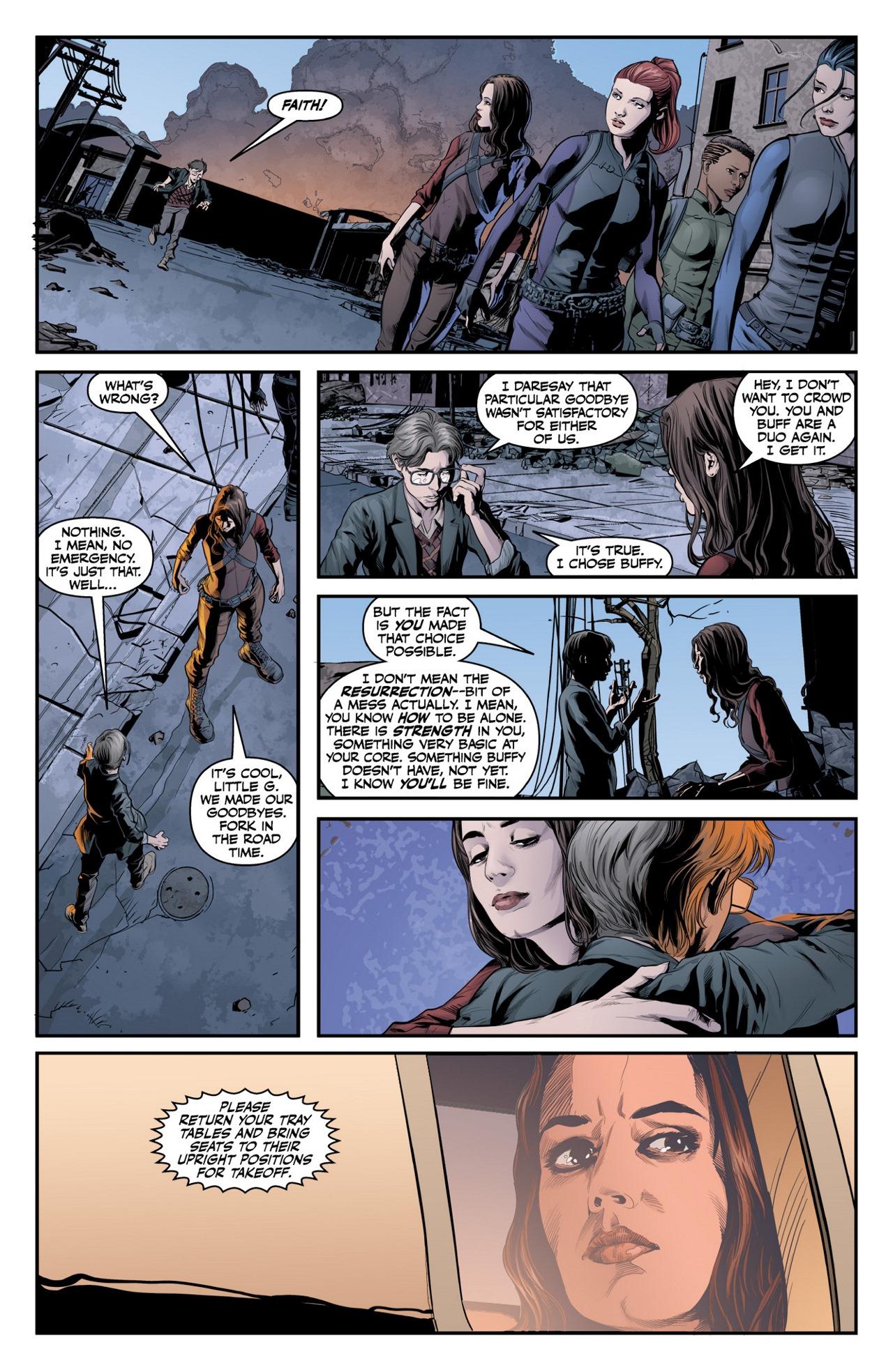 Read online Angel & Faith Season 10 comic -  Issue #2 - 4