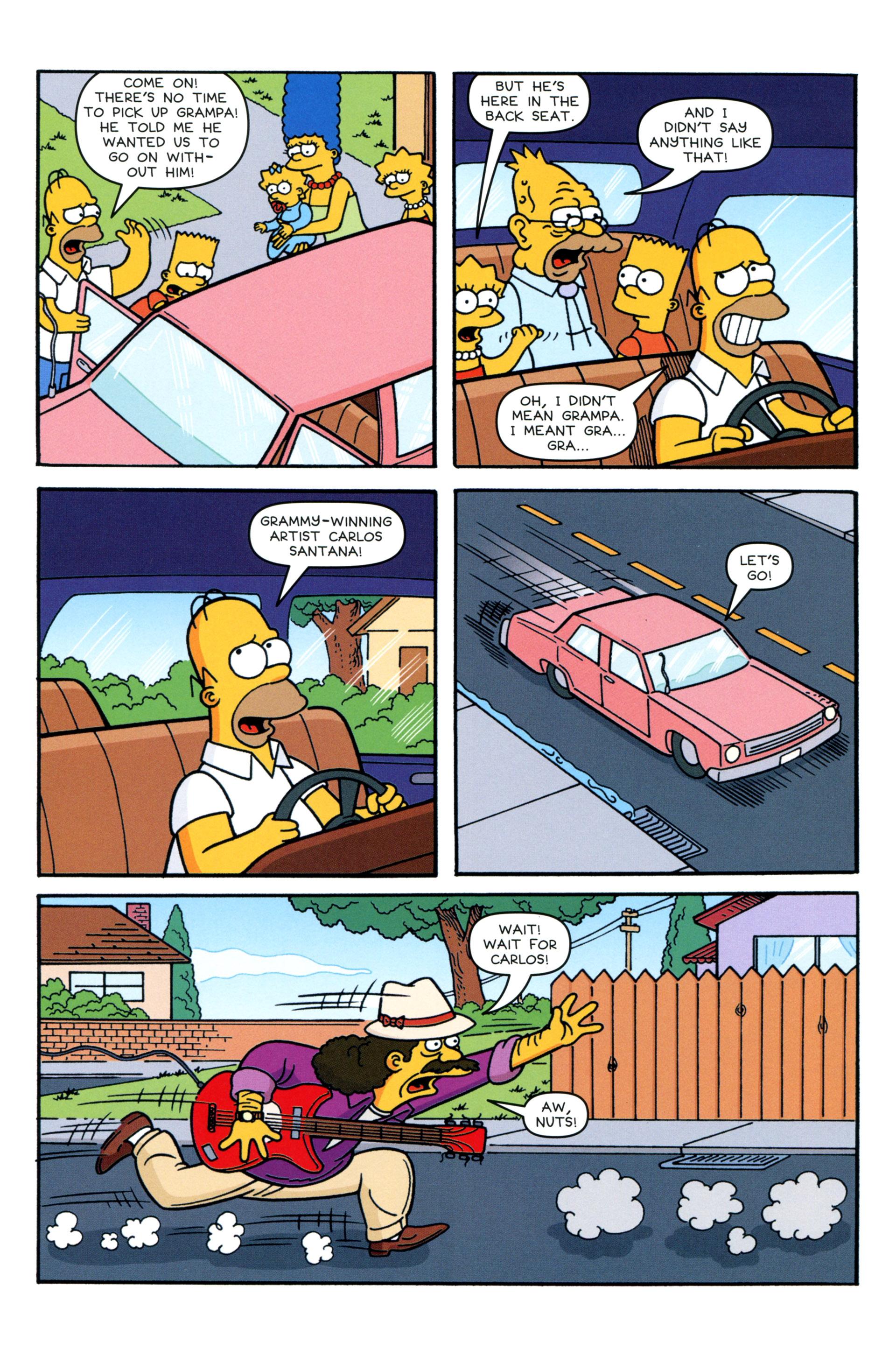 Read online Simpsons Comics comic -  Issue #206 - 10
