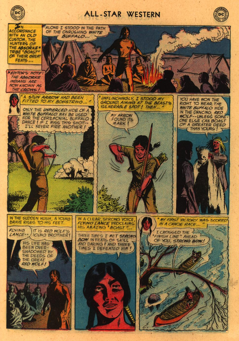 Read online All-Star Western (1951) comic -  Issue #98 - 12