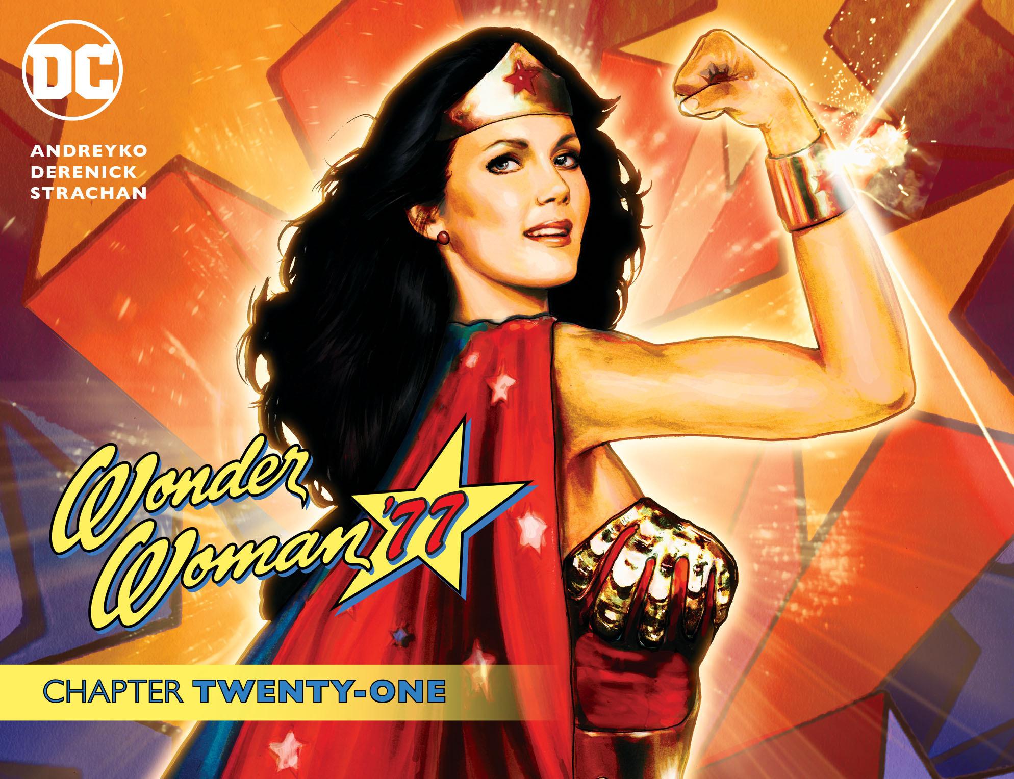 Read online Wonder Woman '77 [I] comic -  Issue #21 - 1