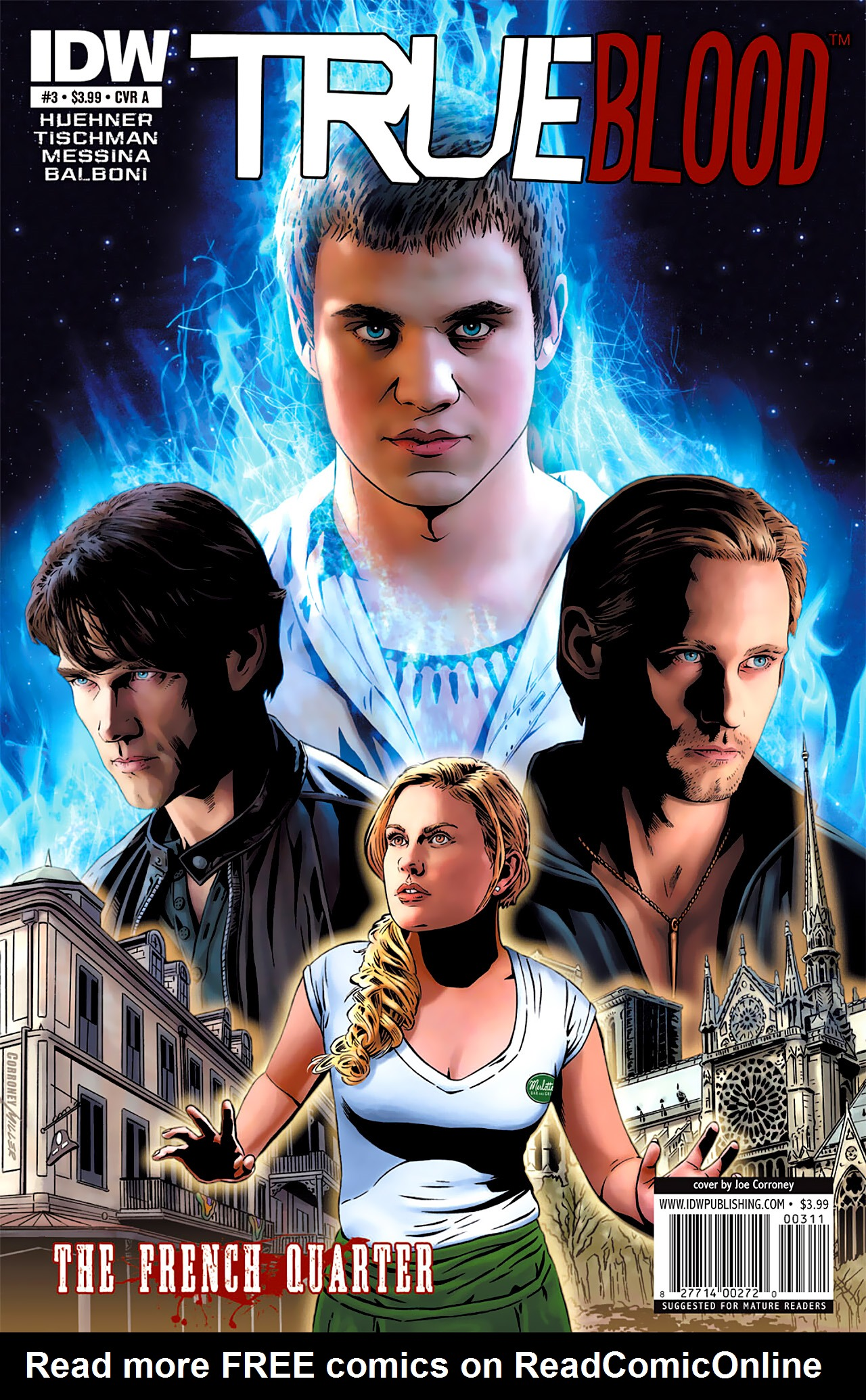 Read online True Blood: French Quarter comic -  Issue #3 - 1