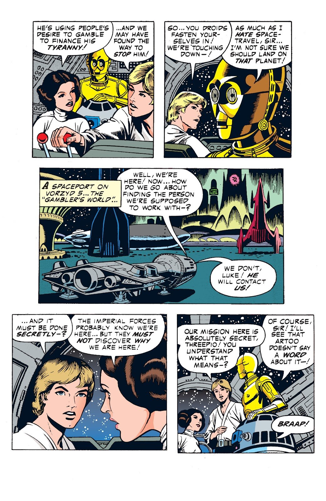 Read online Star Wars Legends: The Newspaper Strips - Epic Collection comic -  Issue # TPB (Part 1) - 43
