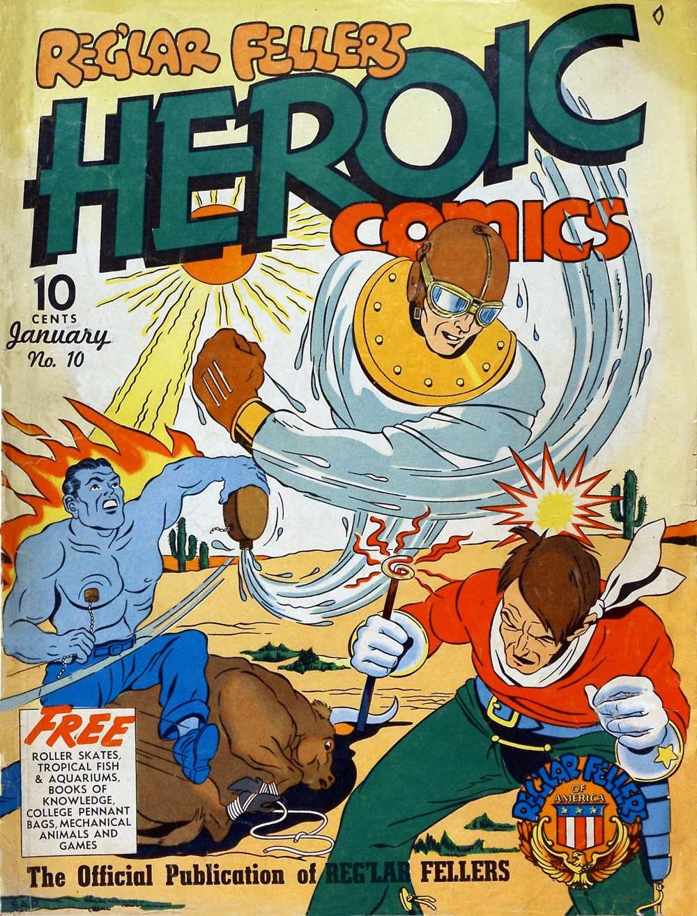 Reglar Fellers Heroic Comics issue 10 - Page 1