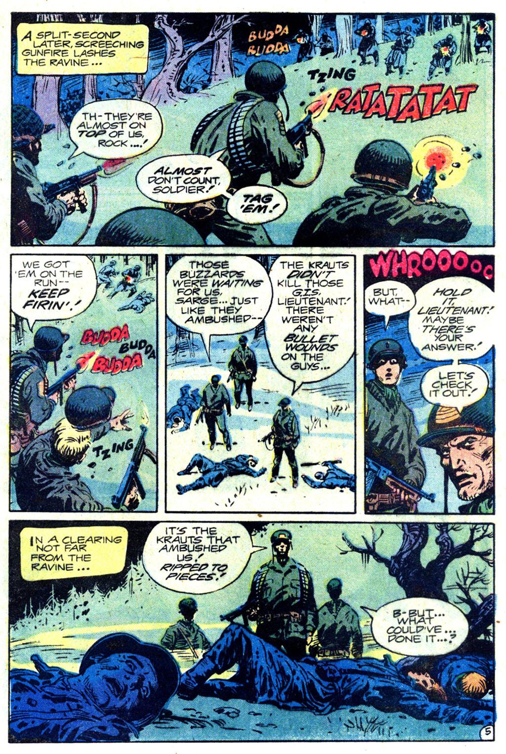 Read online Sgt. Rock comic -  Issue #354 - 5