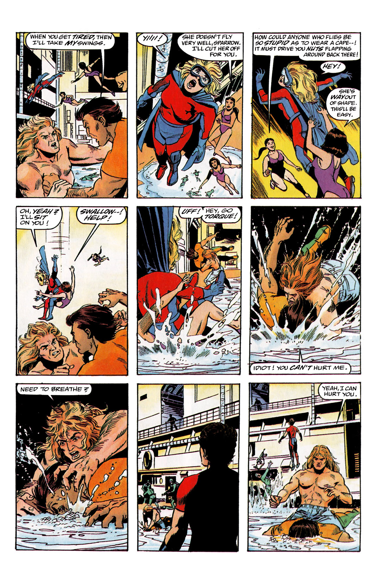 Read online Harbinger (1992) comic -  Issue #2 - 23