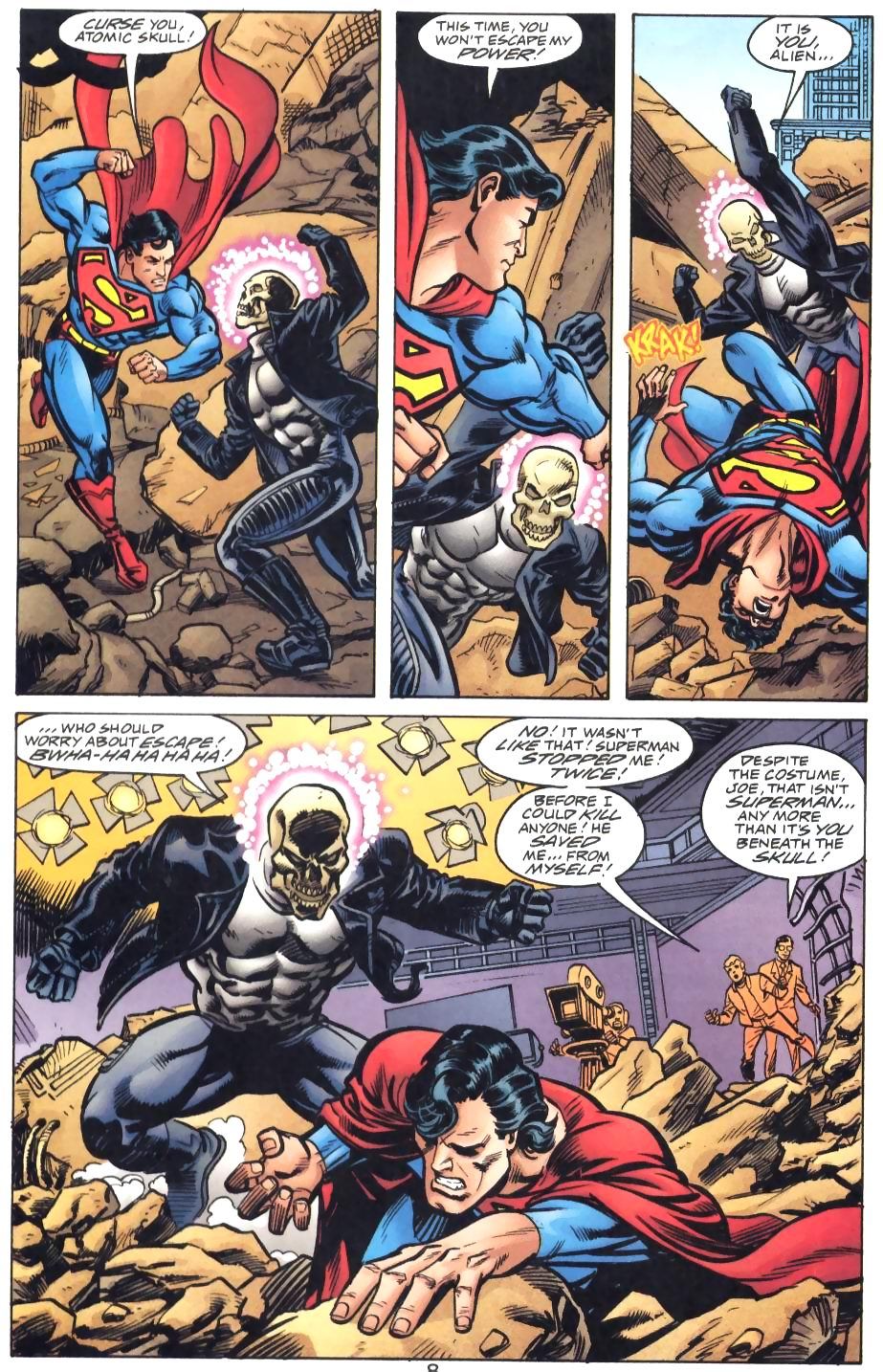 Read online Adventures of Superman (1987) comic -  Issue #571 - 10