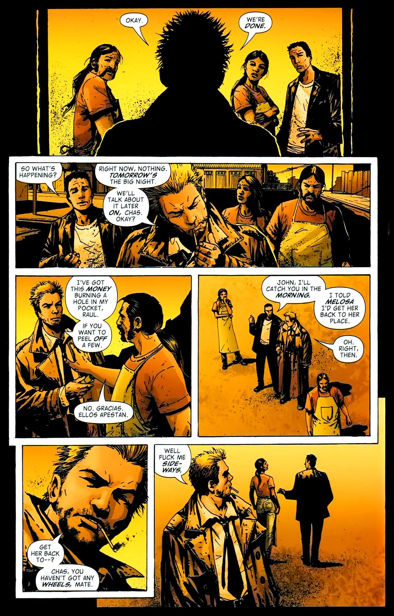 Read online John Constantine Hellblazer: All His Engines comic -  Issue # Full - 69