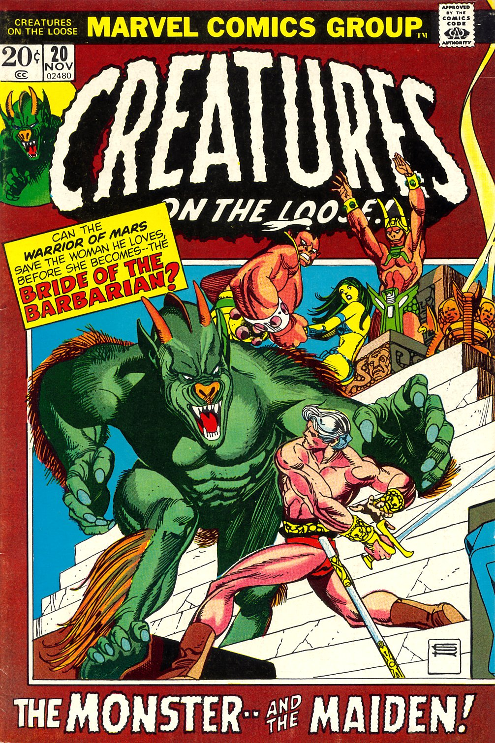 Creatures on the Loose issue 20 - Page 1