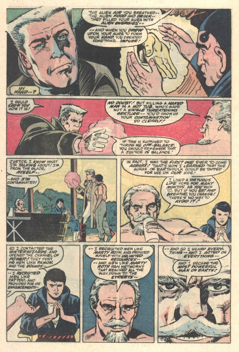 Read online Justice (1986) comic -  Issue #5 - 15