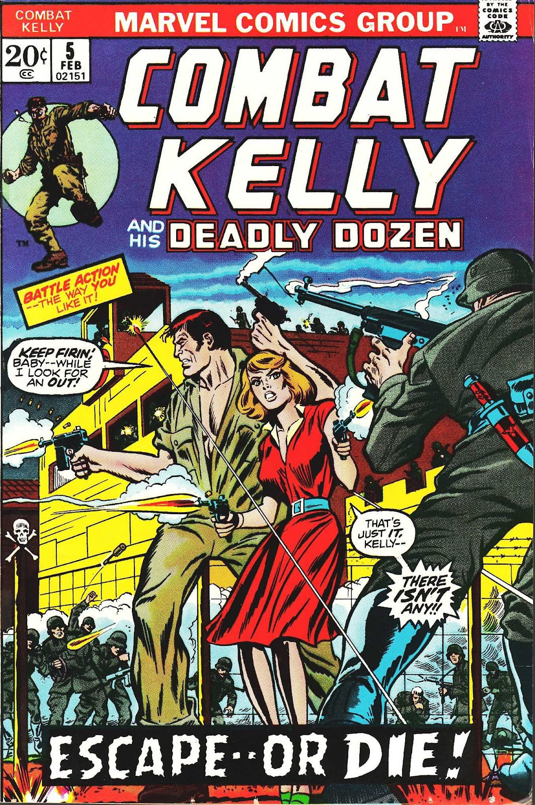 Combat Kelly (1972) issue 5 - Page 1