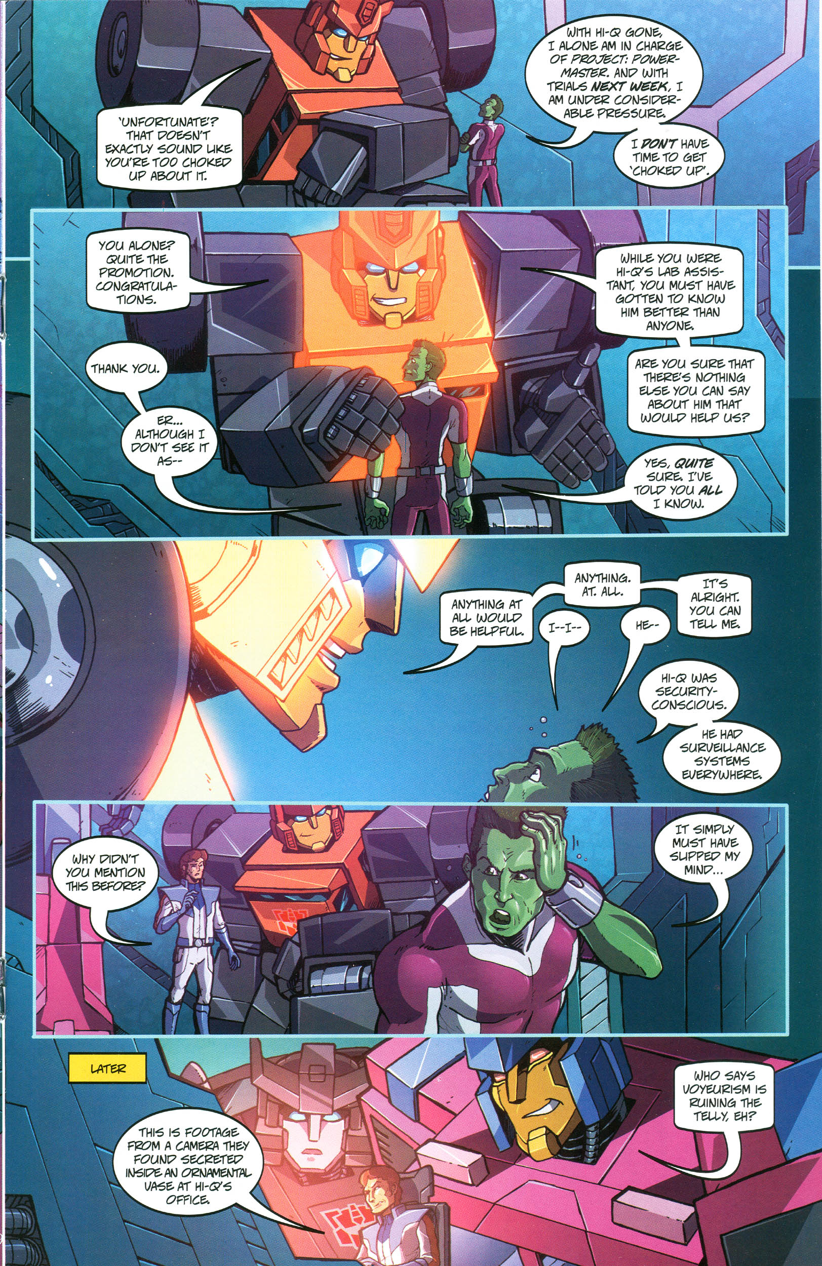 Read online Transformers: Collectors' Club comic -  Issue #45 - 9