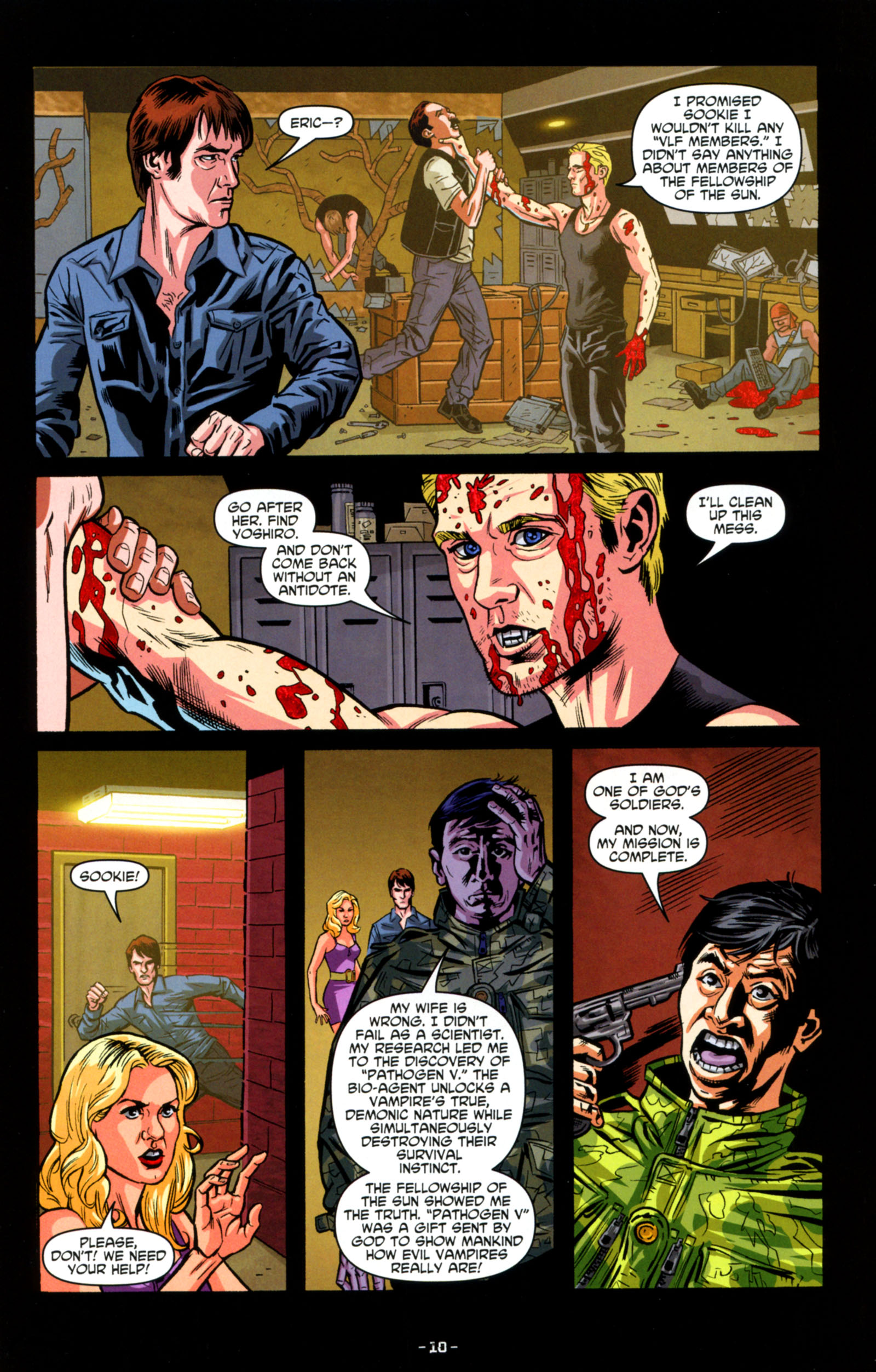 Read online True Blood: Tainted Love comic -  Issue #6 - 12