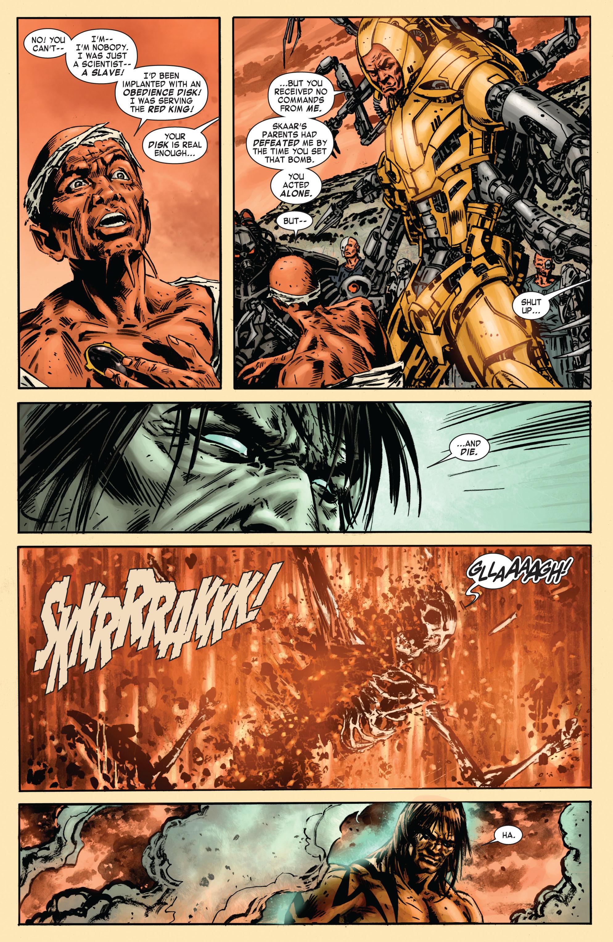 Read online Skaar: Son of Hulk comic -  Issue #7 - 8