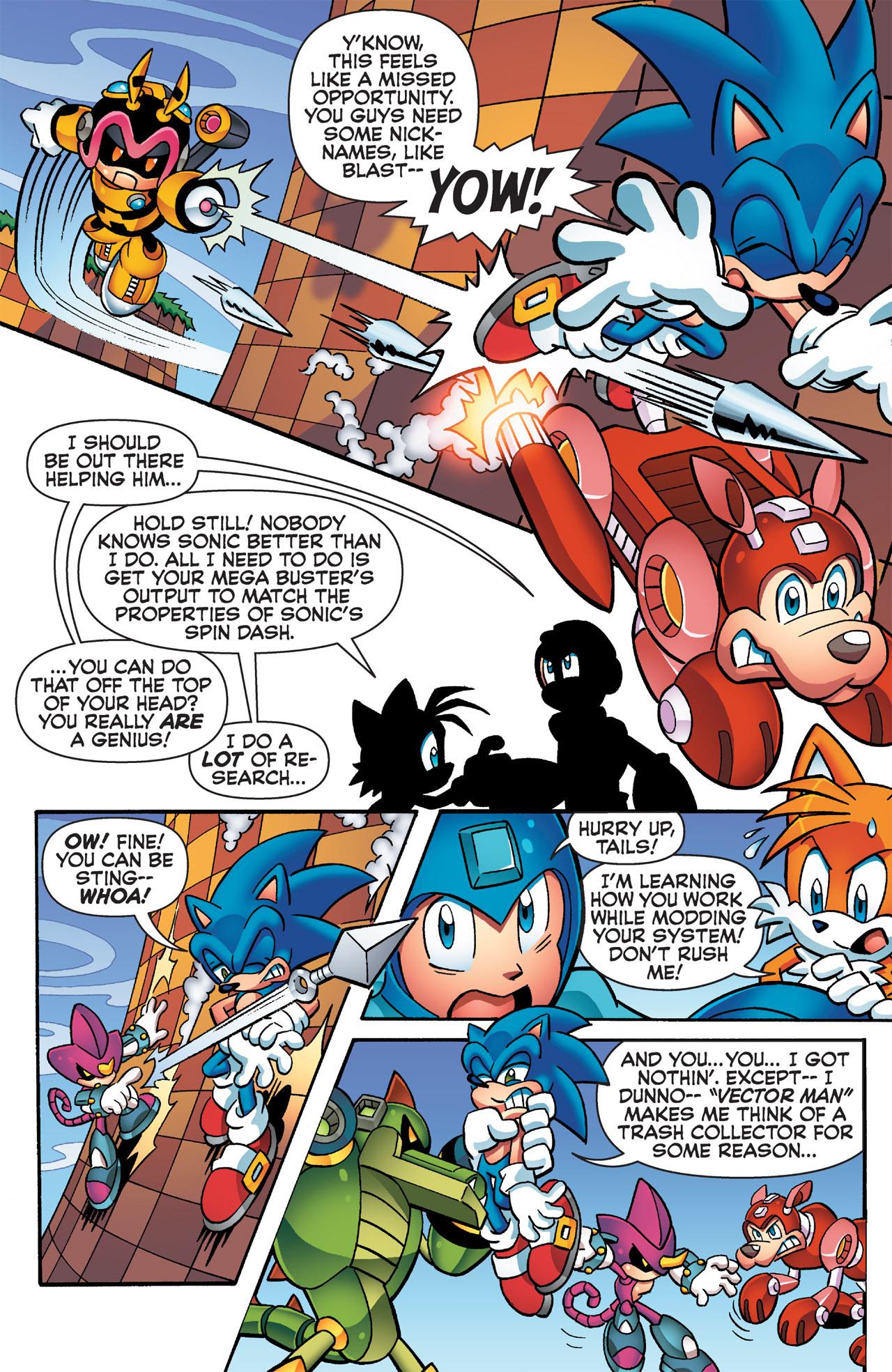 Read online Sonic Mega Man Worlds Collide comic -  Issue # Vol 2 - 43