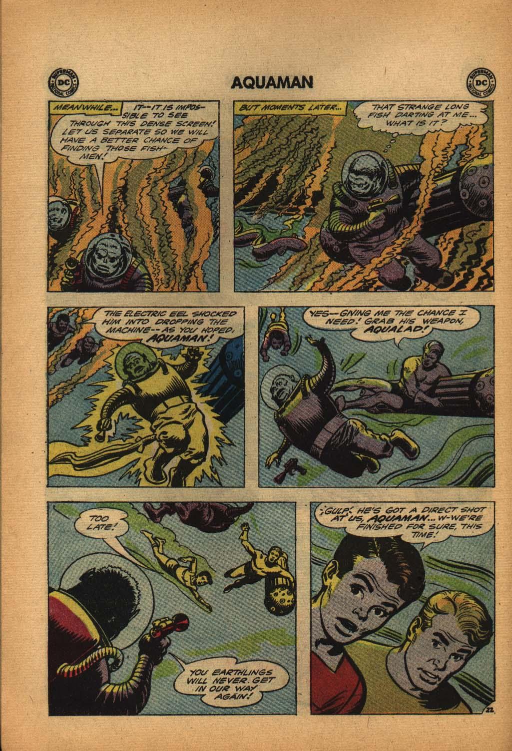 Read online Aquaman (1962) comic -  Issue #4 - 30
