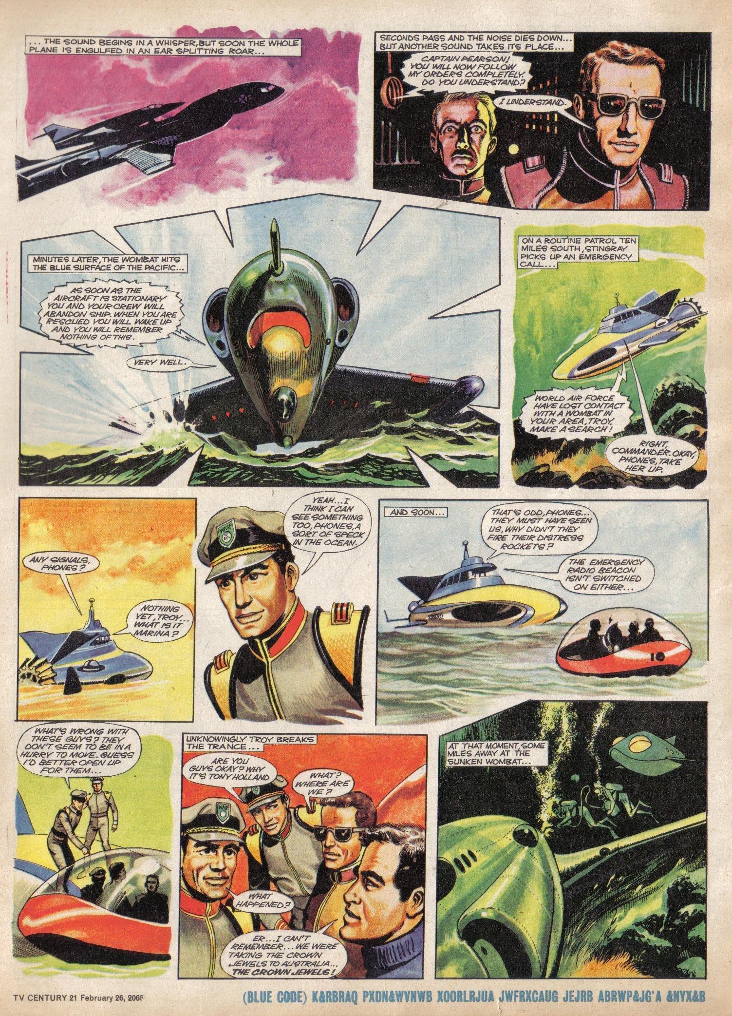Read online TV Century 21 (TV 21) comic -  Issue #58 - 5