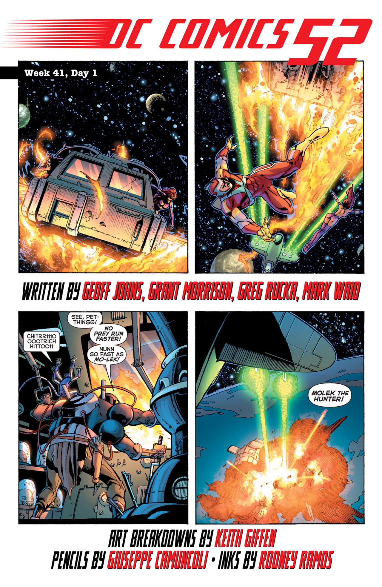 Read online 52 comic -  Issue #41 - 3