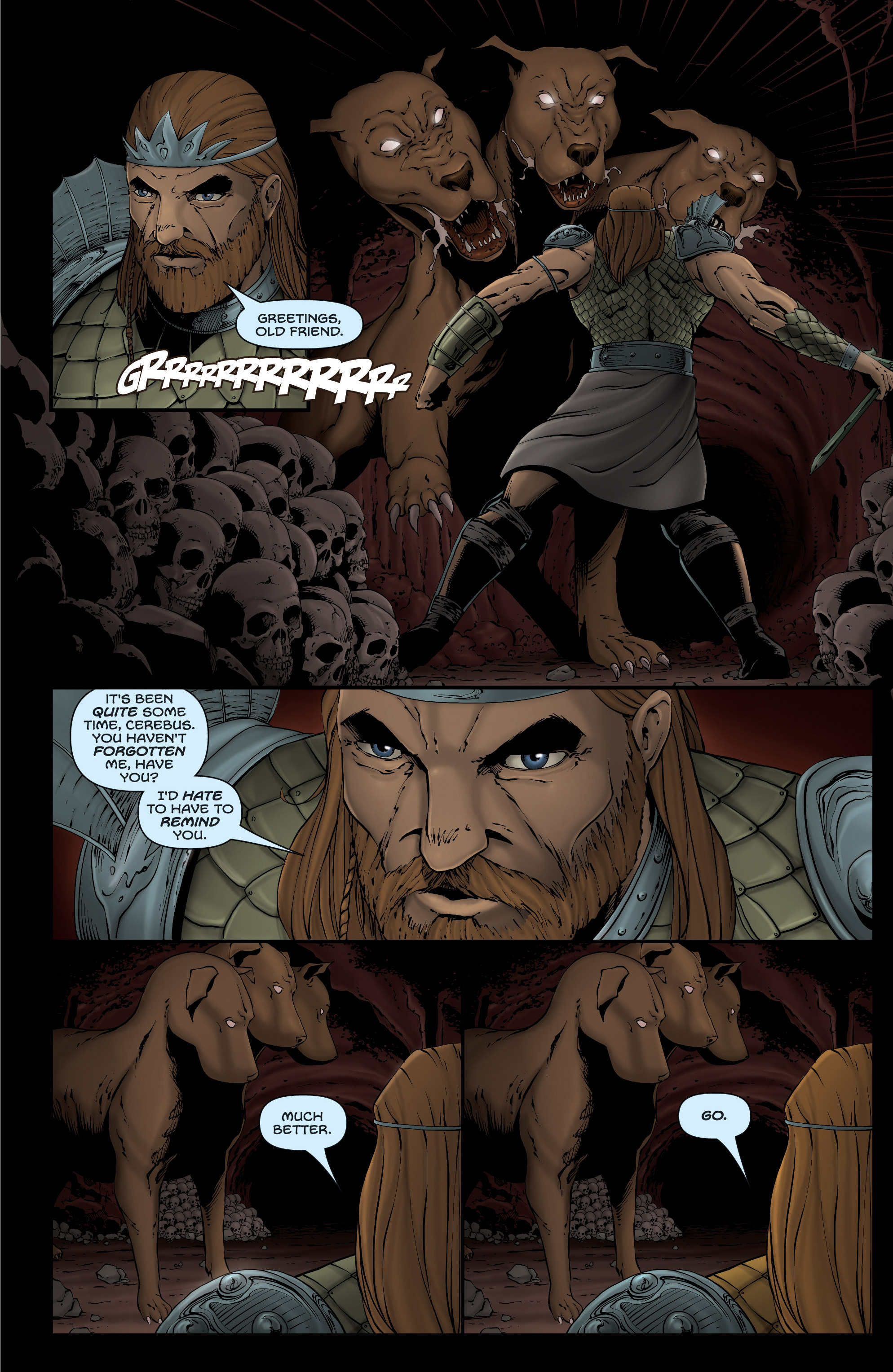 Read online Grimm Fairy Tales presents Grimm Universe comic -  Issue # TPB - 43