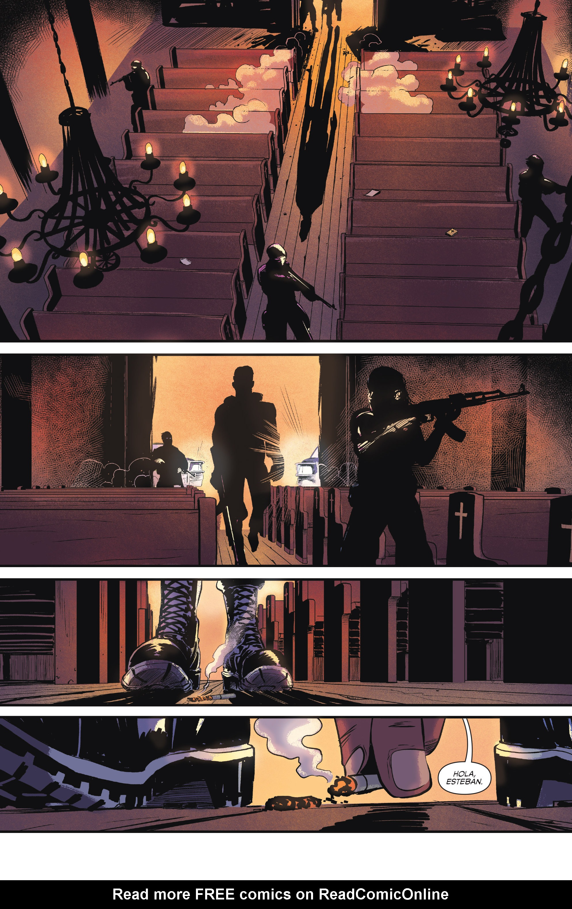Read online Sombra comic -  Issue #1 - 25