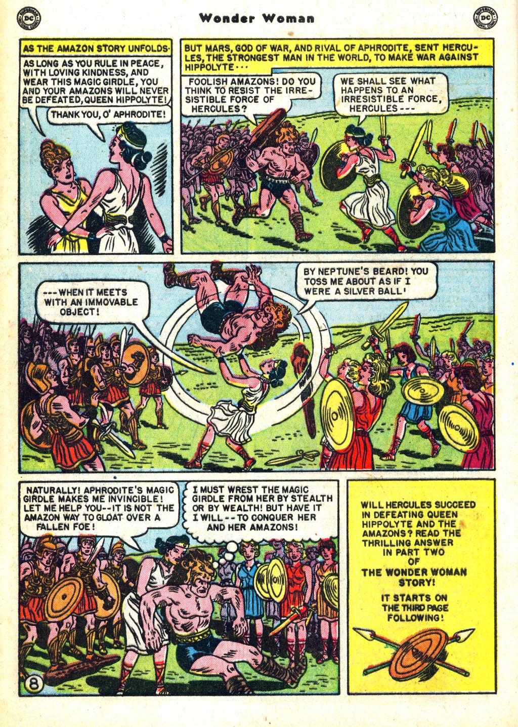 Read online Wonder Woman (1942) comic -  Issue #45 - 10