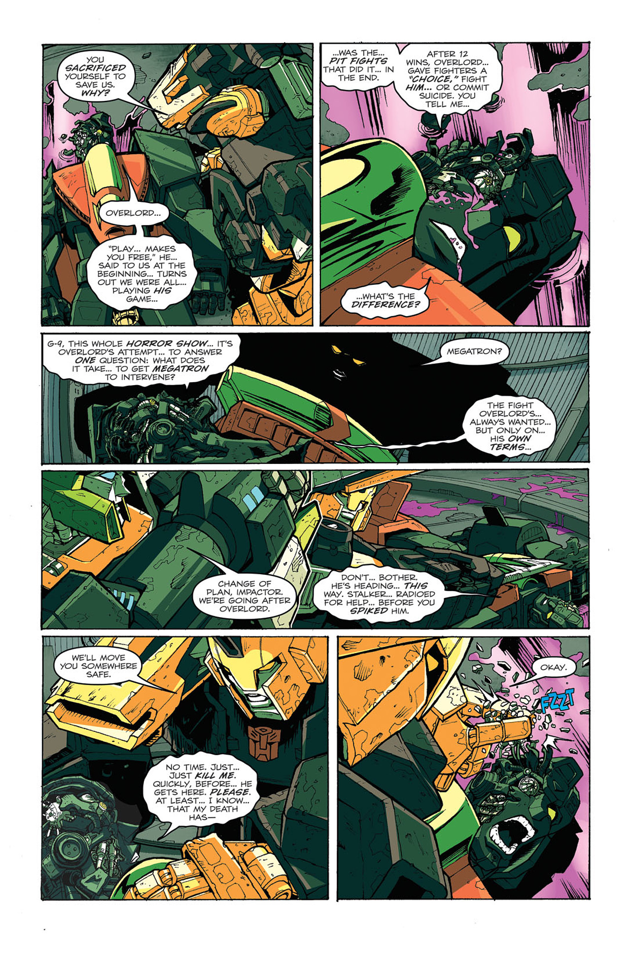 Read online Transformers: Last Stand of The Wreckers comic -  Issue #4 - 23