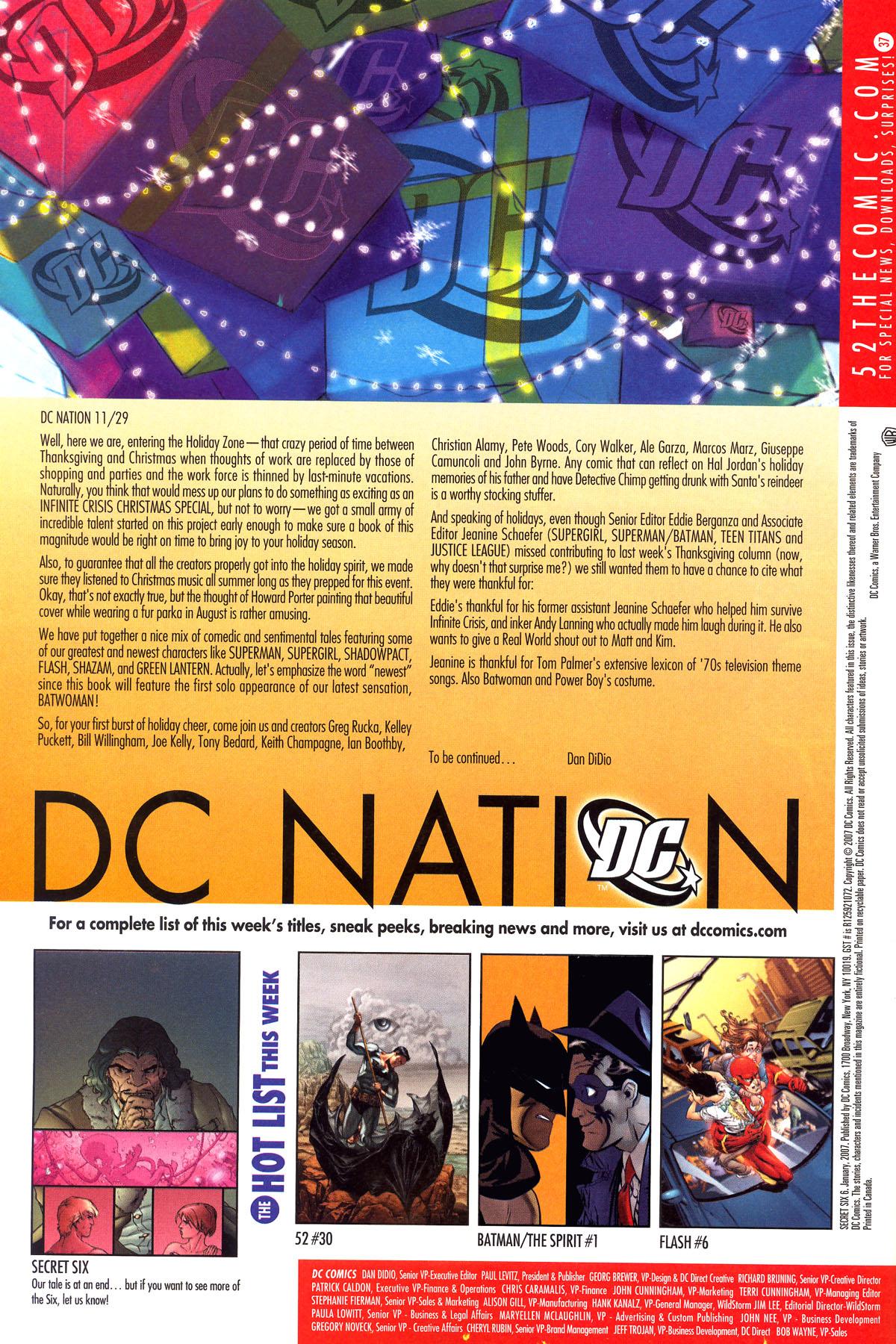 Read online Secret Six (2006) comic -  Issue #6 - 24