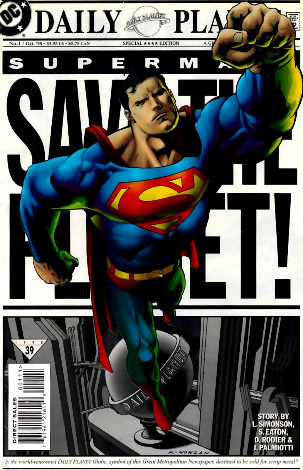 Superman: Save the Planet issue Full - Page 1