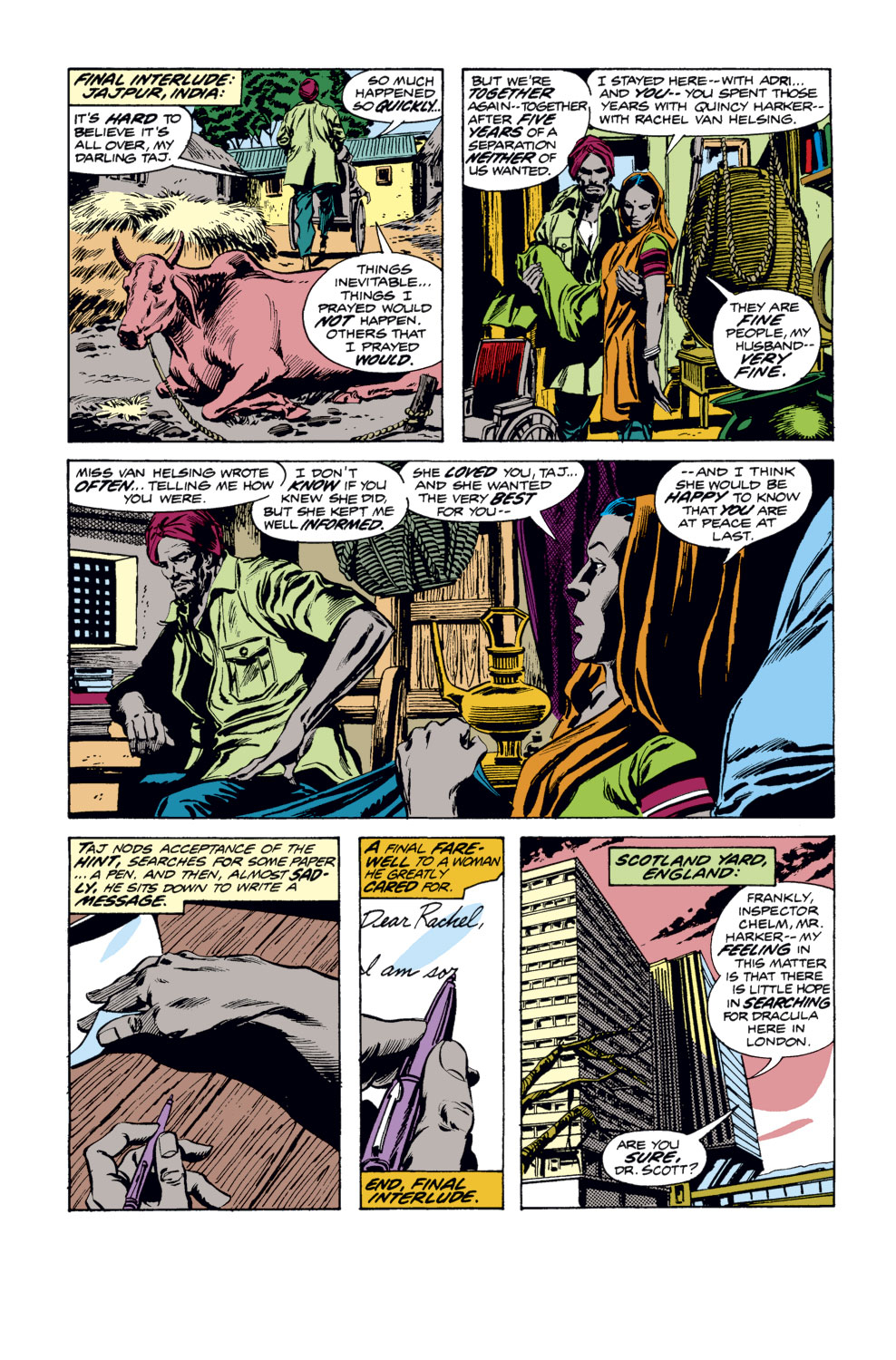 Tomb of Dracula (1972) issue 34 - Page 9