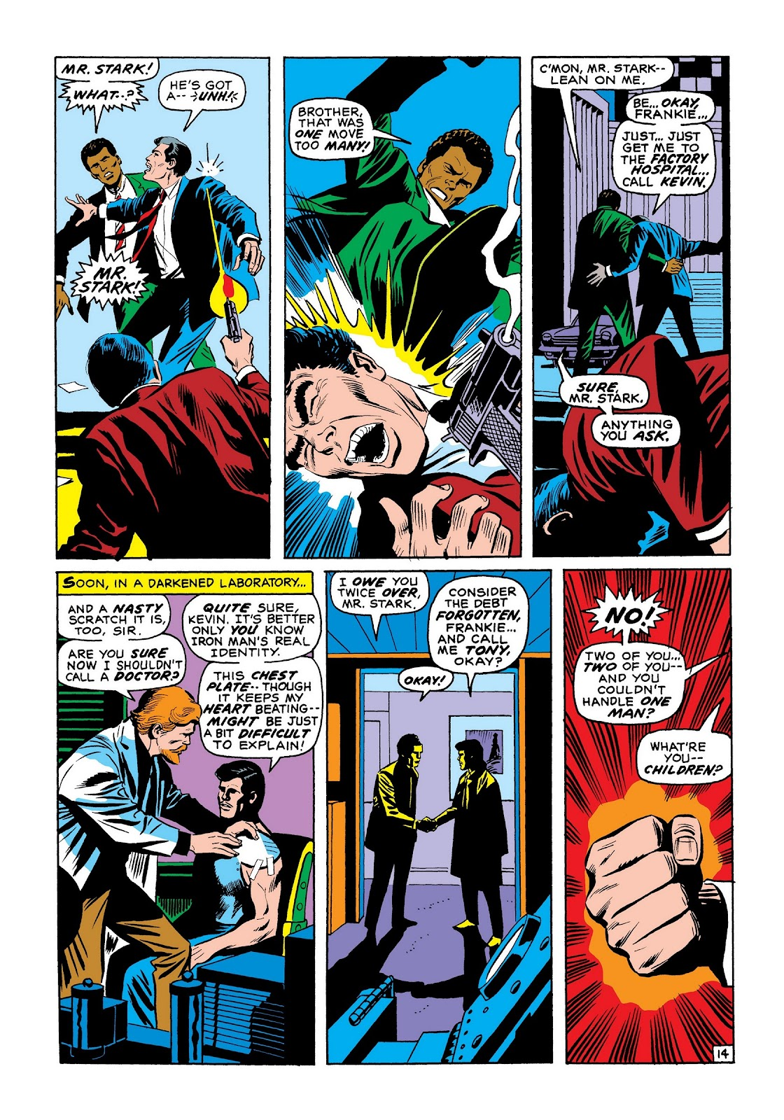Read online Marvel Masterworks: The Invincible Iron Man comic -  Issue # TPB 7 (Part 3) - 82