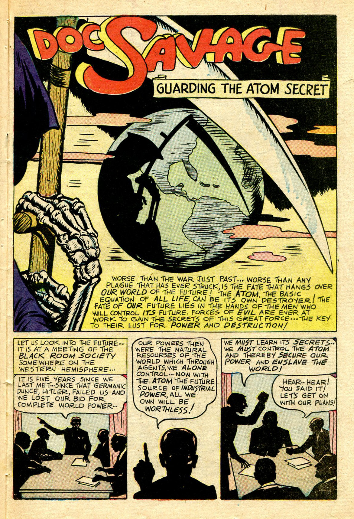 Read online Shadow Comics comic -  Issue #67 - 31