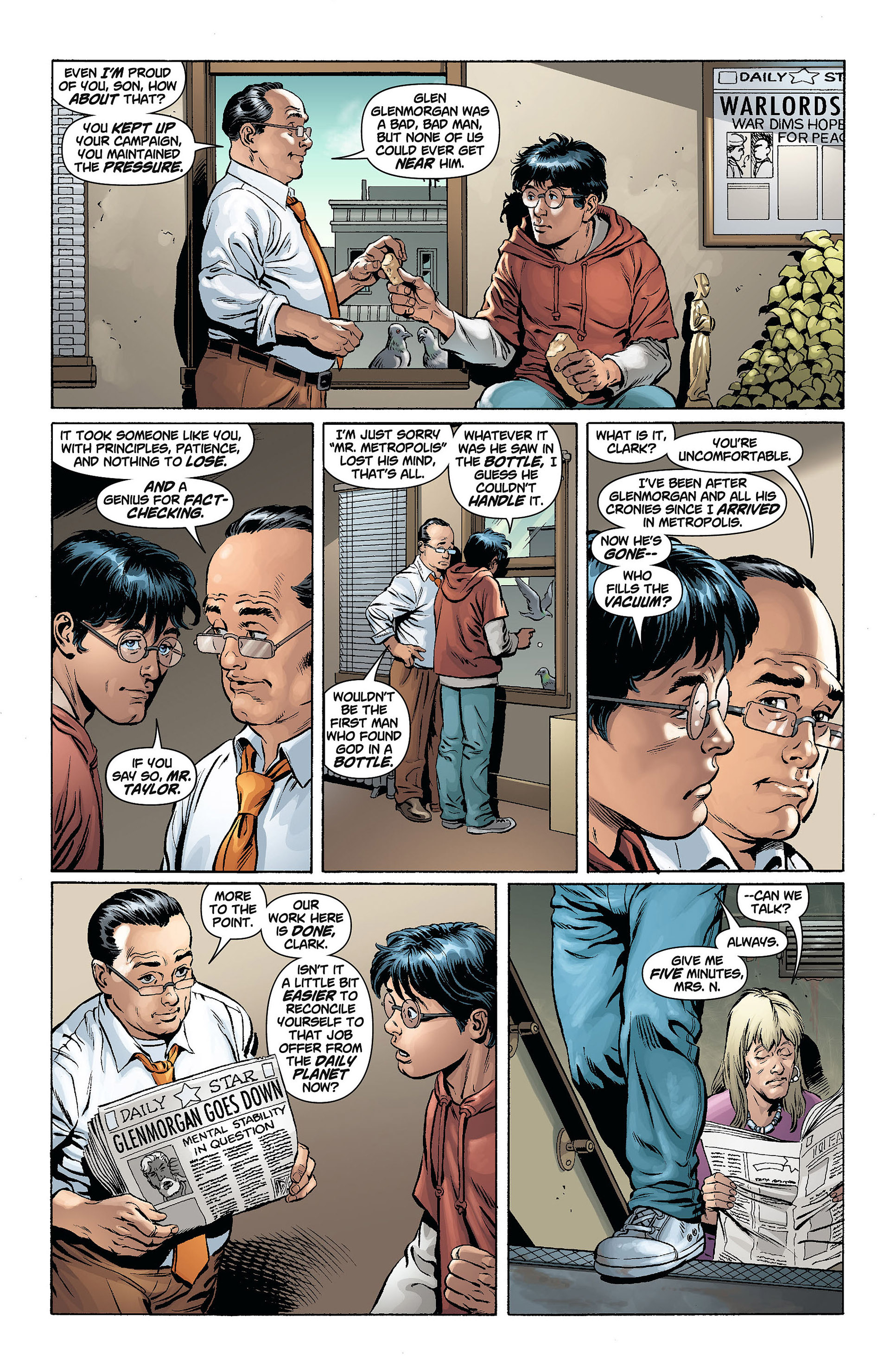 Read online Action Comics (2011) comic -  Issue #8 - 22