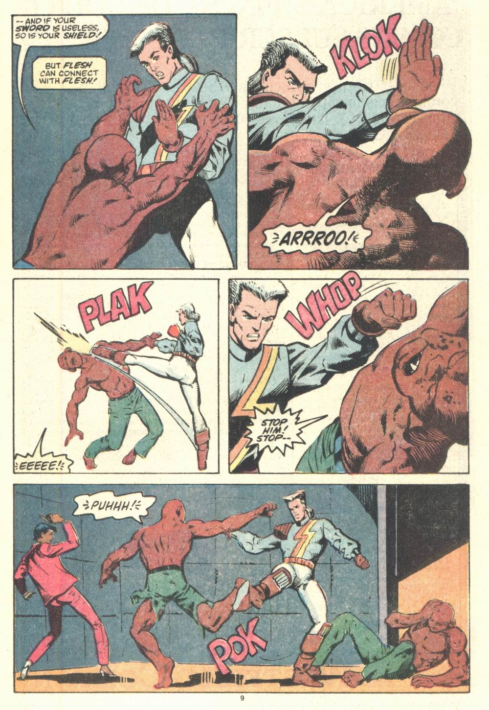 Read online Justice (1986) comic -  Issue #2 - 10