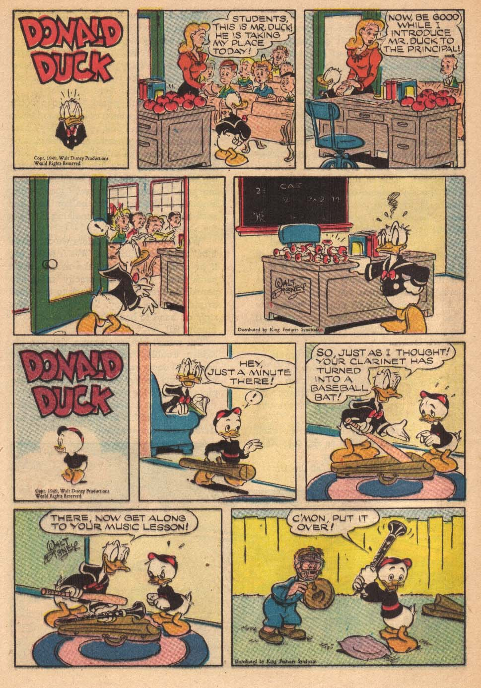 Walt Disney's Comics and Stories issue 145 - Page 40