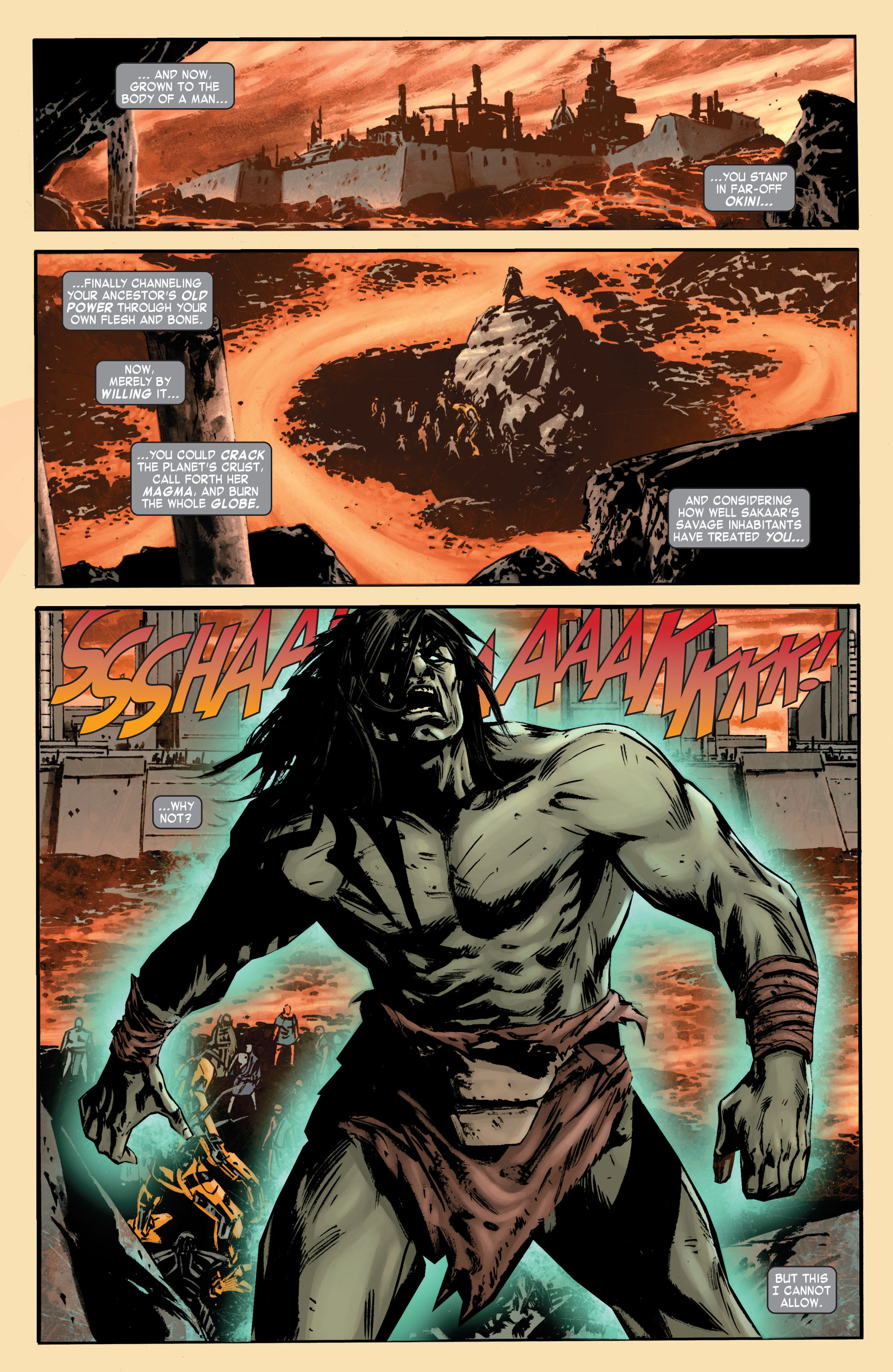 Read online Skaar: Son of Hulk comic -  Issue #7 - 5