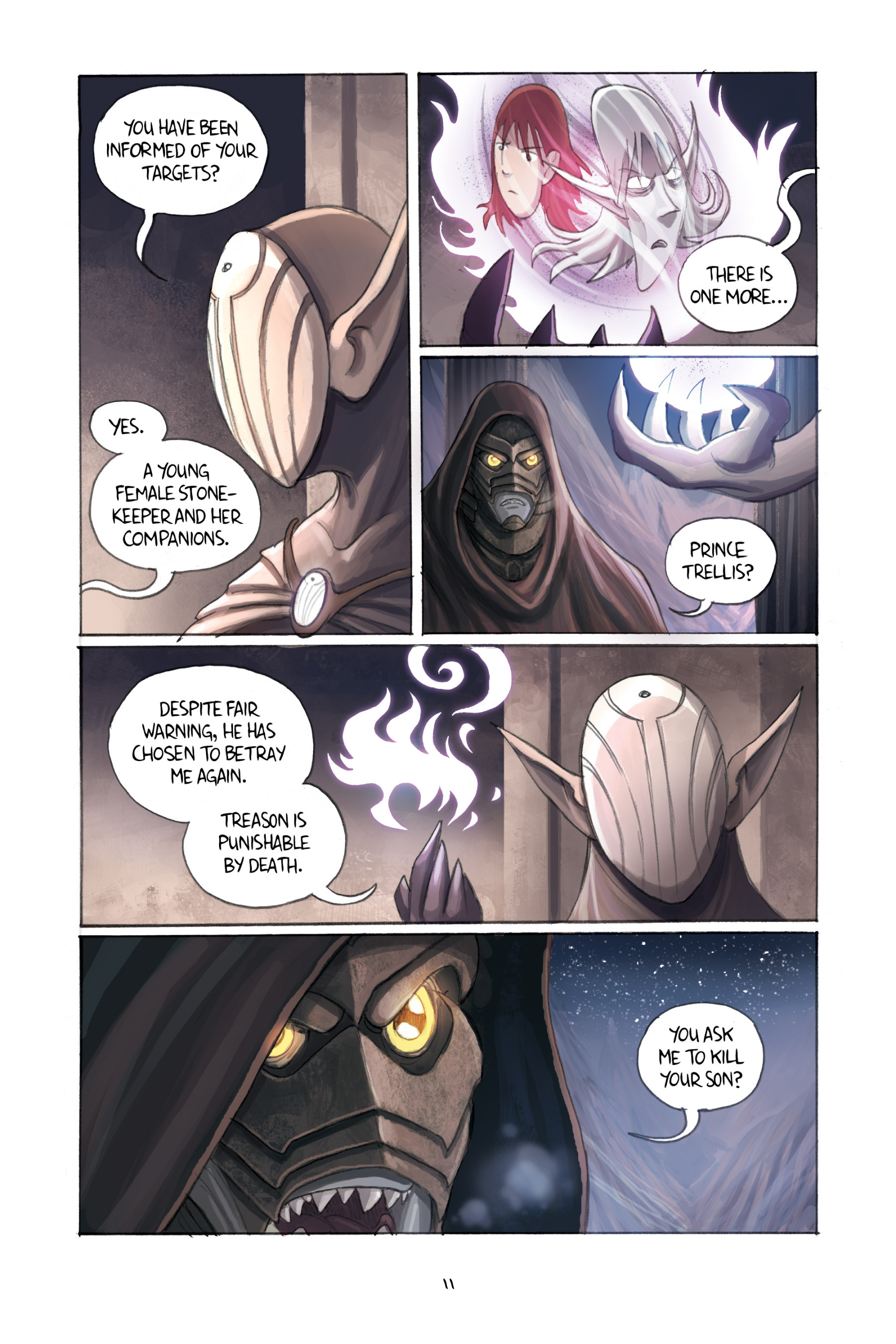 Read online Amulet comic -  Issue #3 - 13