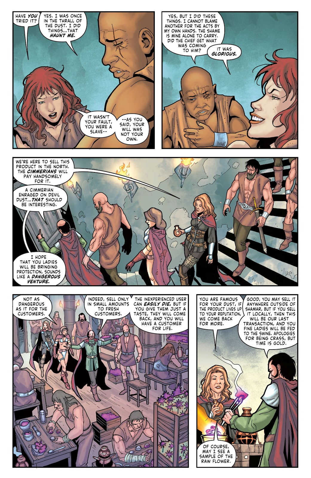 Red Sonja: The Price of Blood issue 2 - Page 16