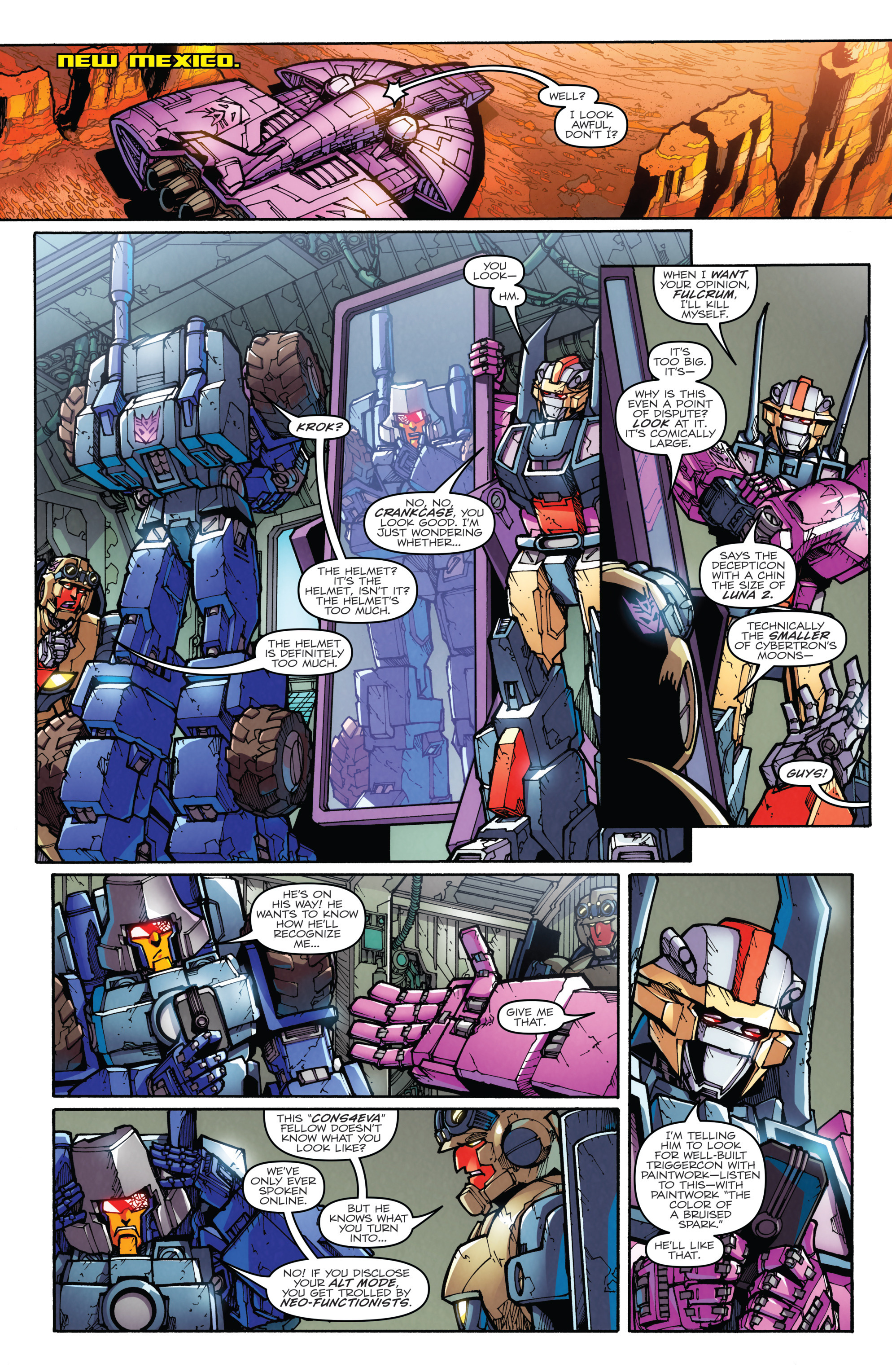Read online Transformers: Till All Are One comic -  Issue #5 - 33