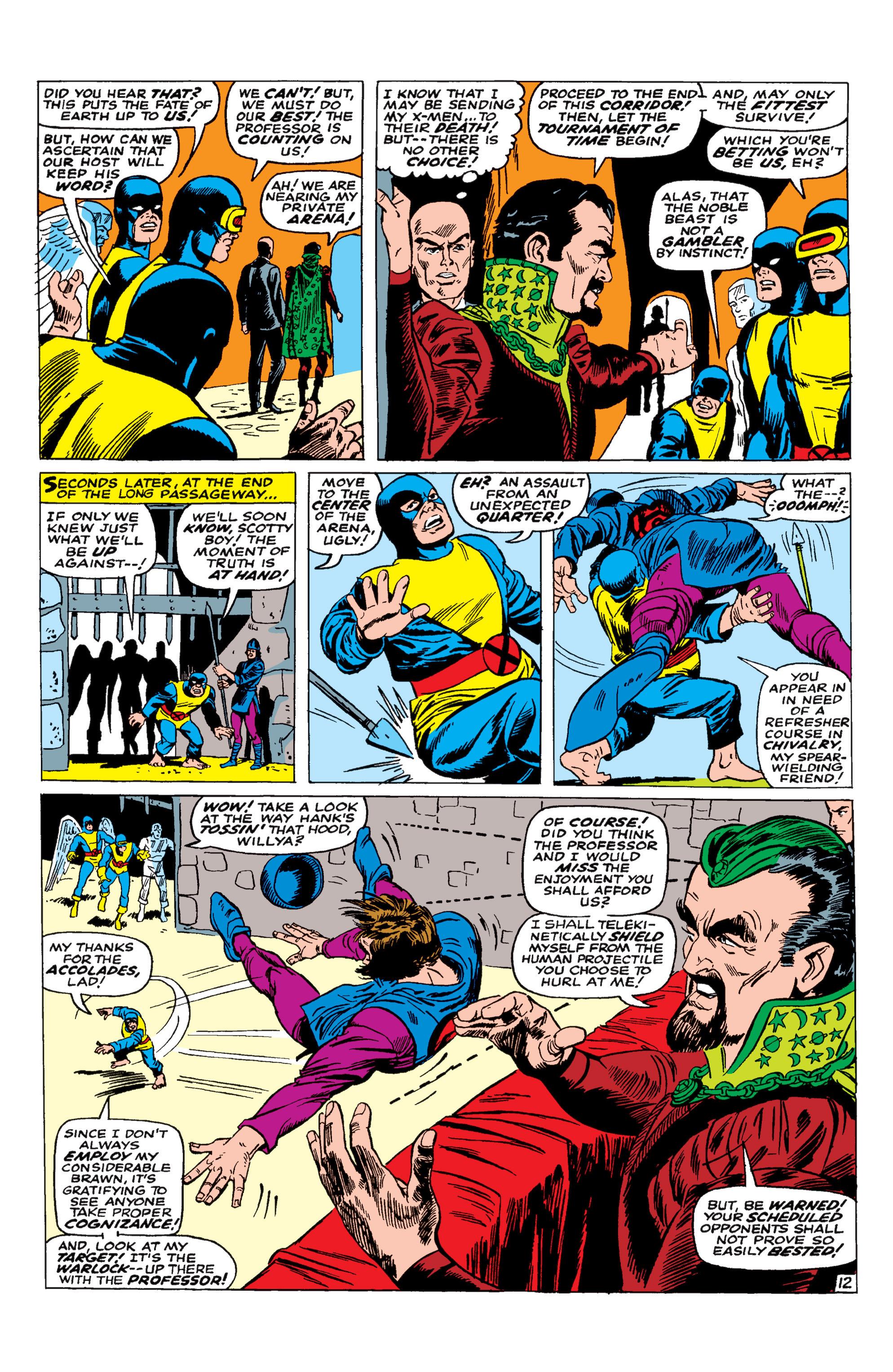 Uncanny X-Men (1963) 30 Page 12