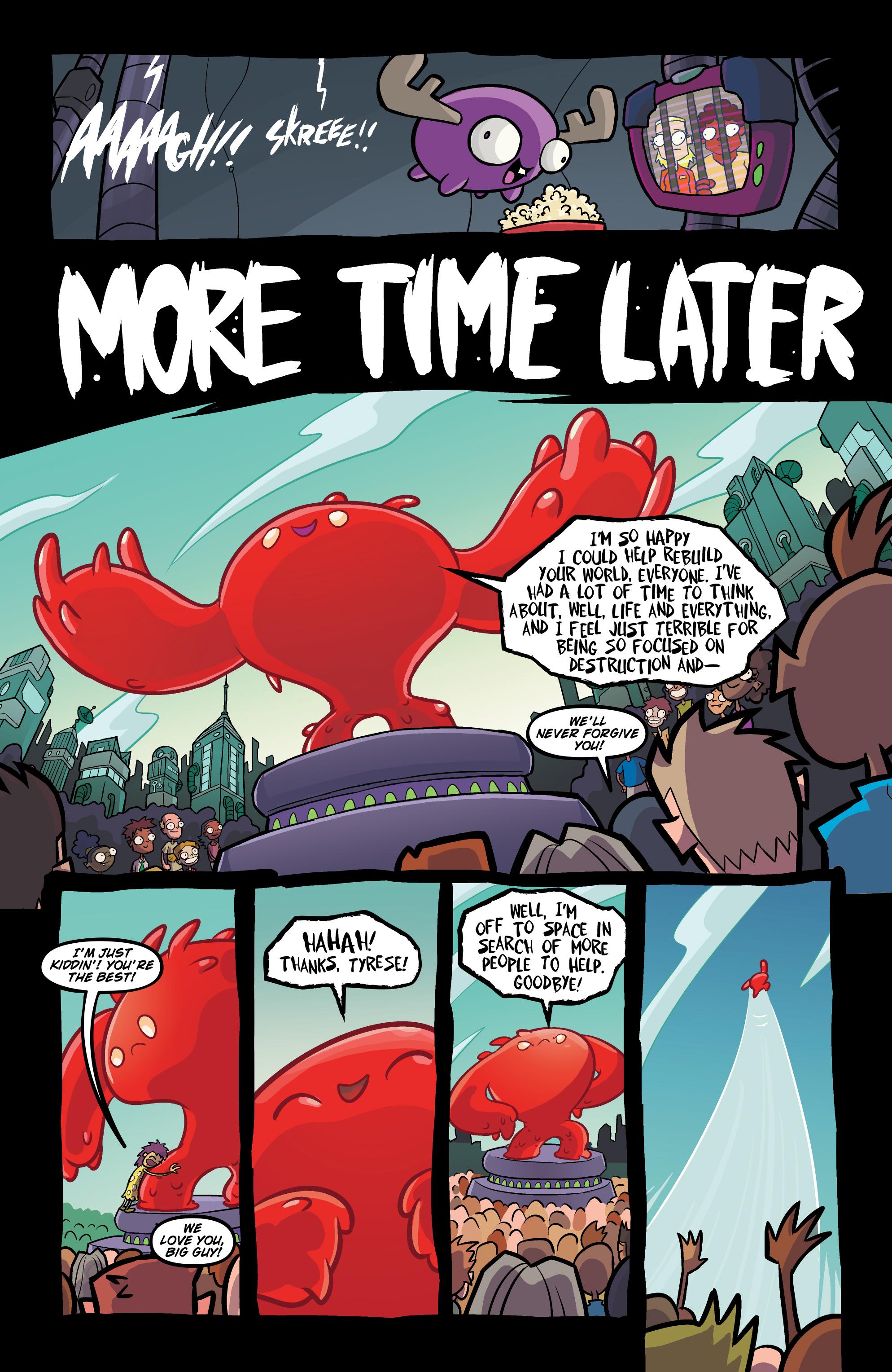 Read online Invader Zim comic -  Issue #20 - 23