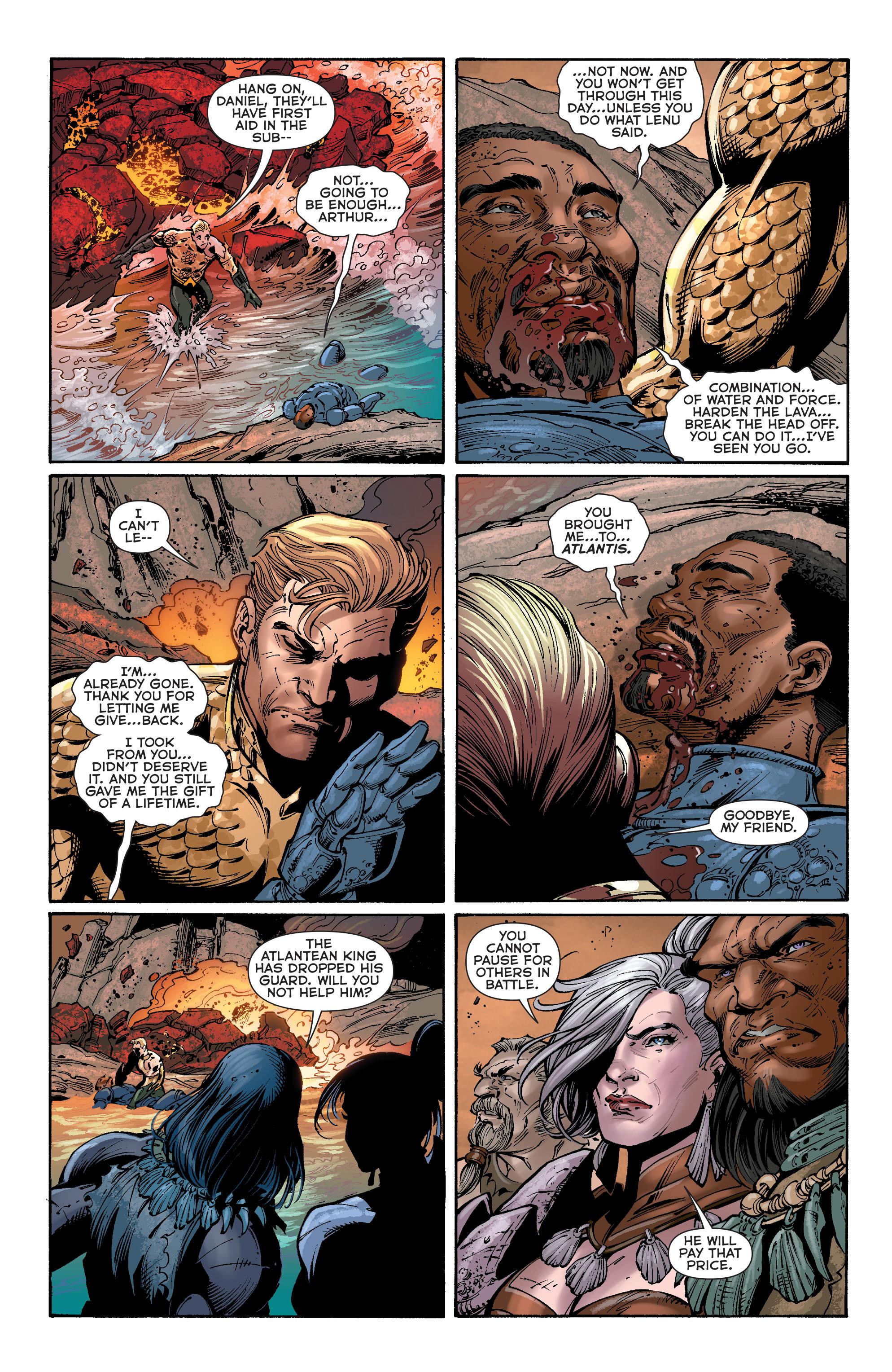 Read online Aquaman (2011) comic -  Issue #40 - 6