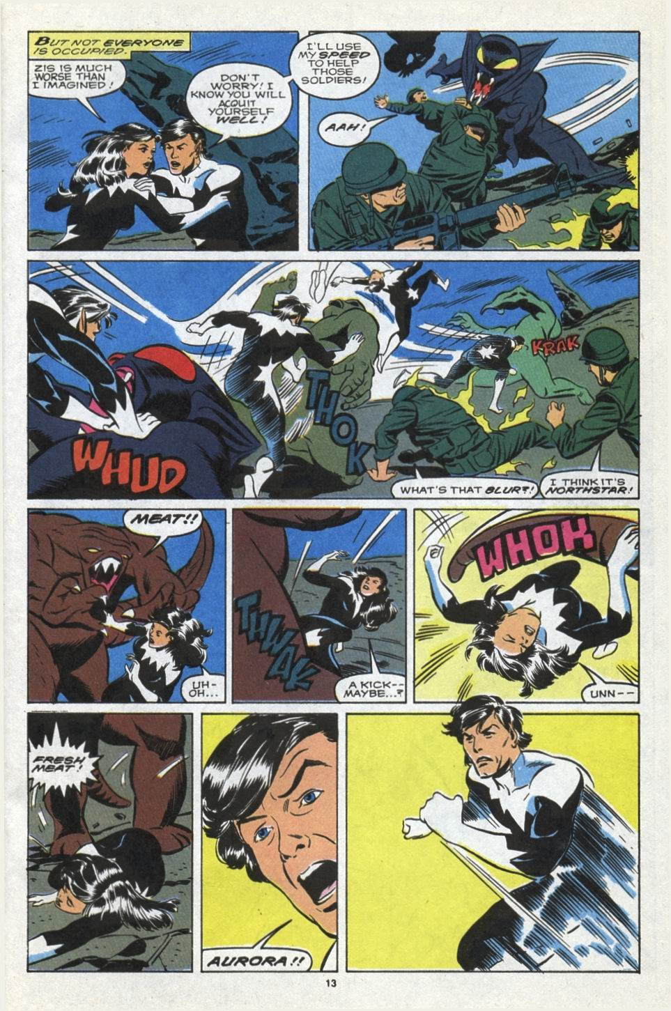 Read online Alpha Flight (1983) comic -  Issue #85 - 12
