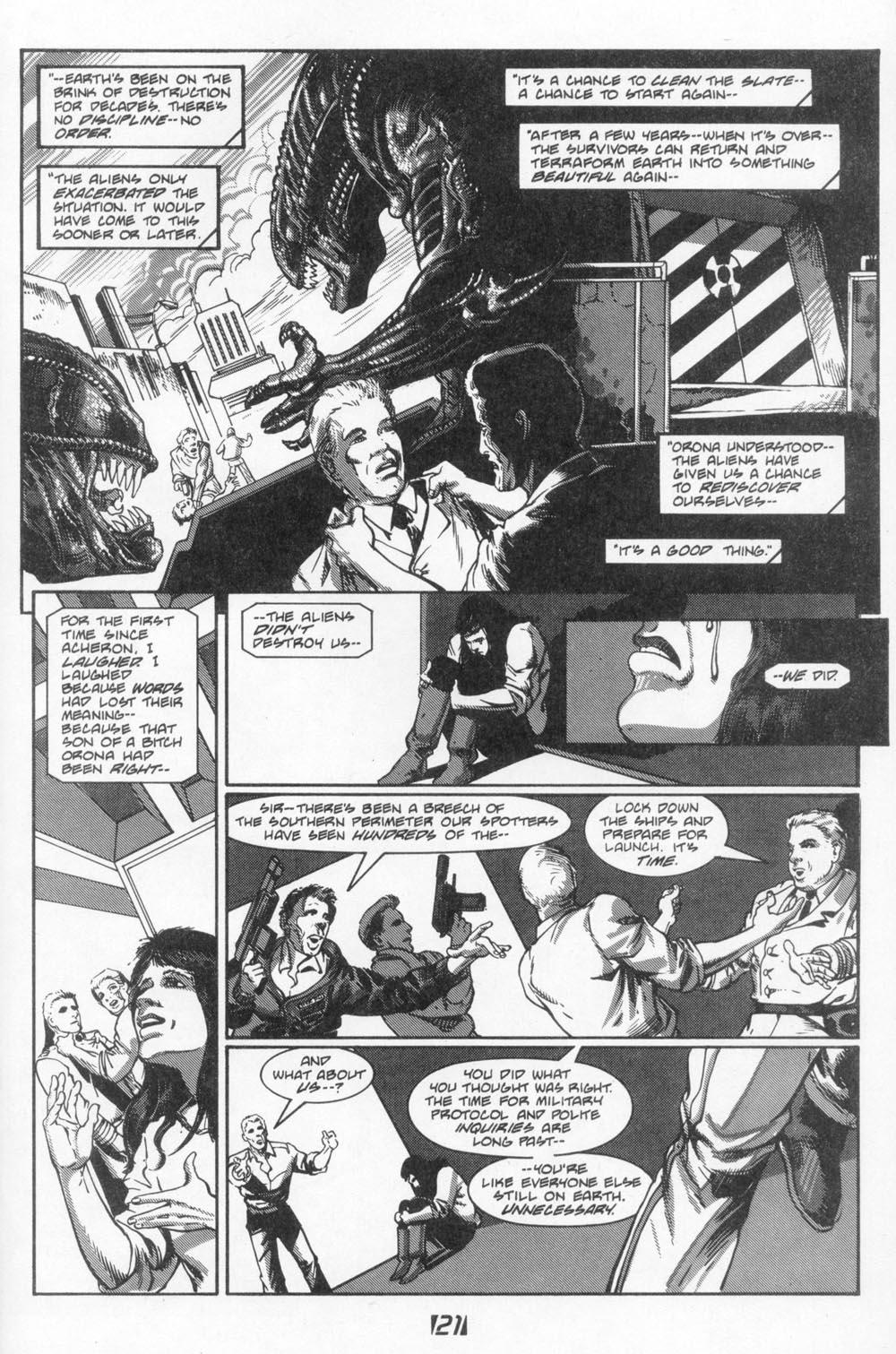 Read online Aliens (1988) comic -  Issue #6 - 23