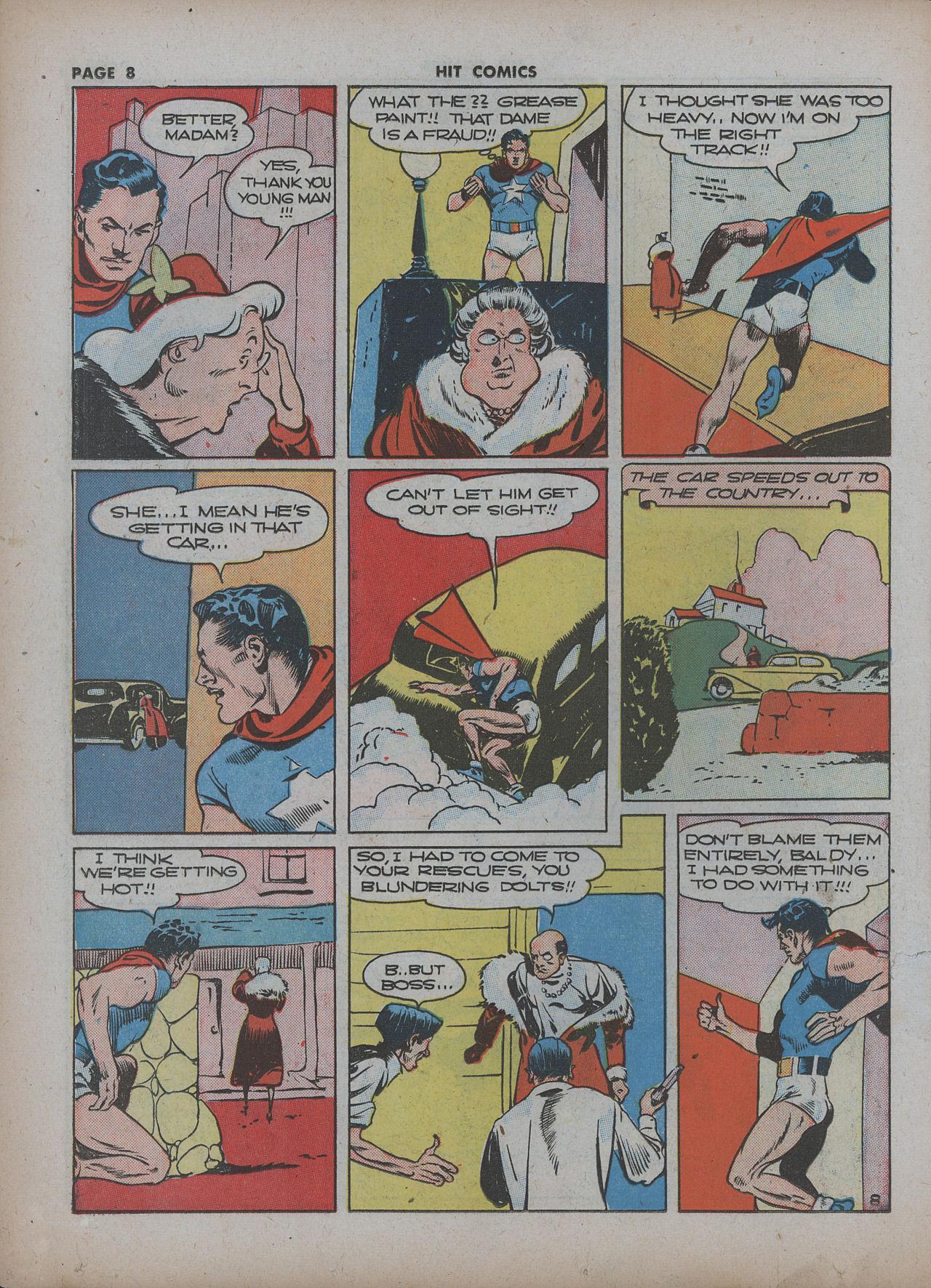 Read online Hit Comics comic -  Issue #22 - 10