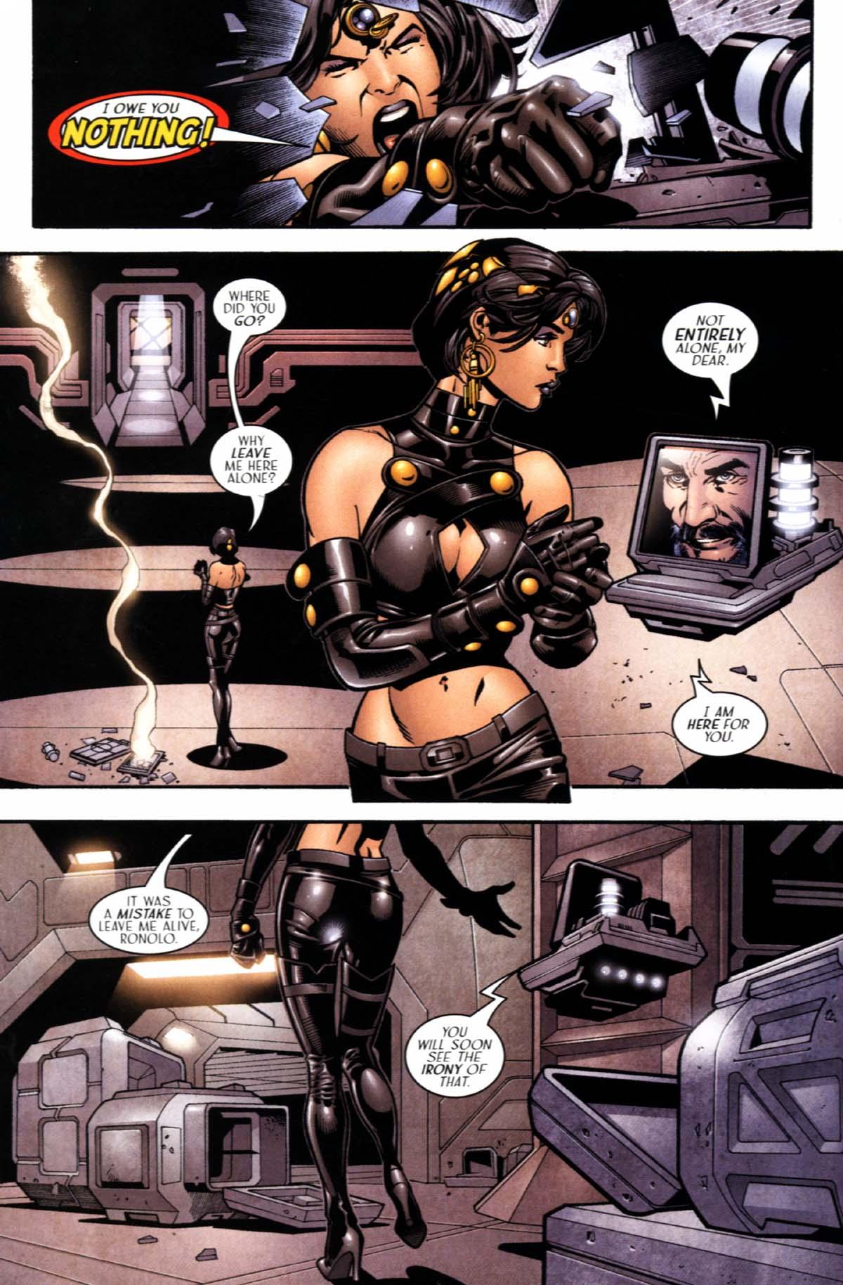 Read online Sigil (2000) comic -  Issue #22 - 12