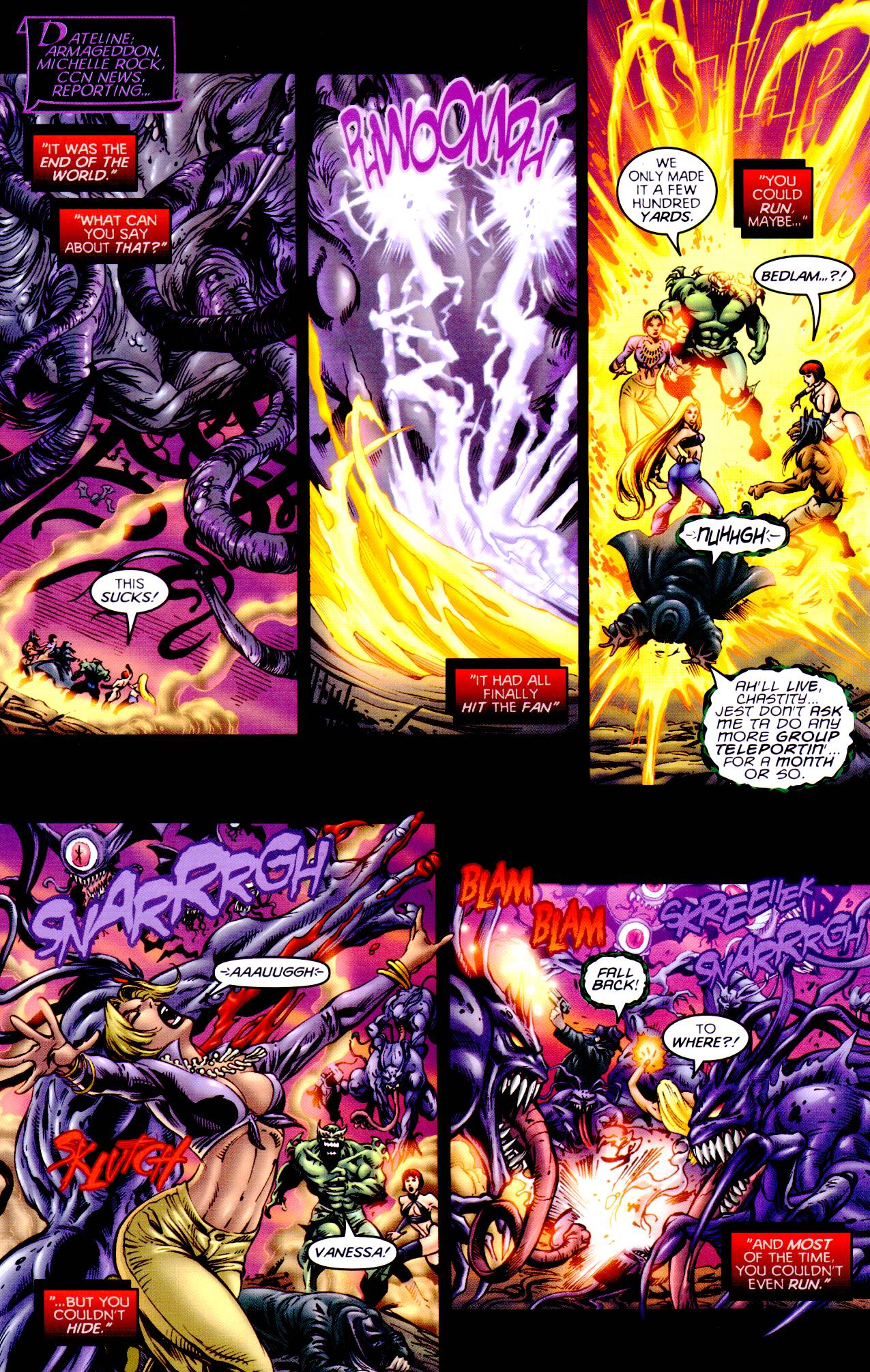Read online Armageddon (1999) comic -  Issue #4 - 3