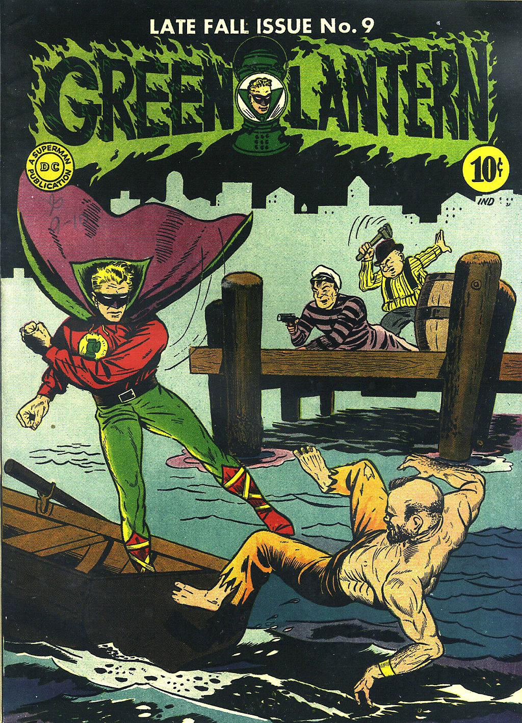 Green Lantern (1941) issue 9 - Page 1