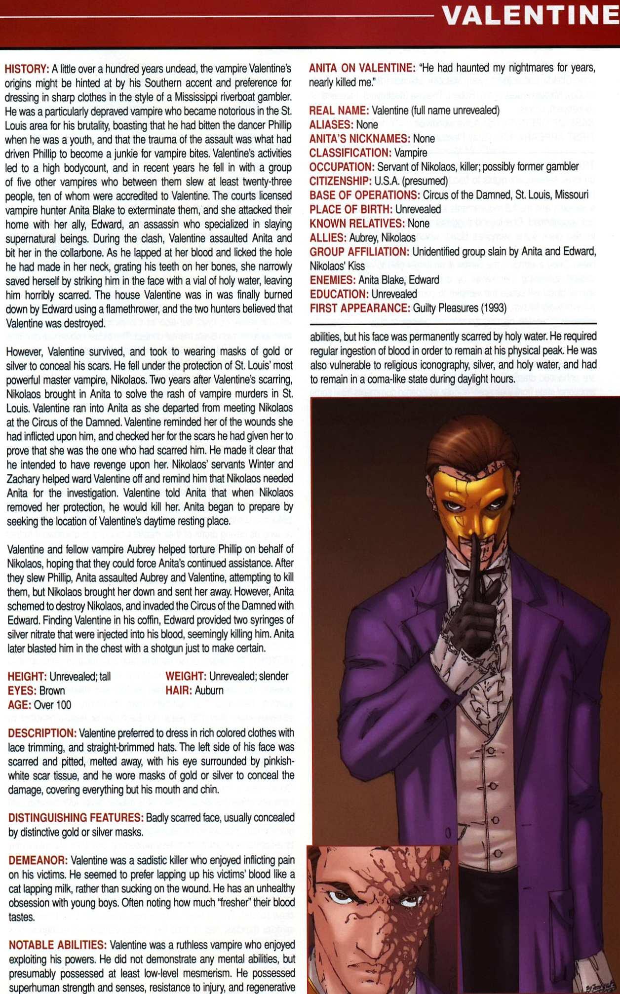 Read online Anita Blake, Vampire Hunter: Guilty Pleasures Handbook comic -  Issue #Anita Blake, Vampire Hunter: Guilty Pleasures Handbook Full - 31