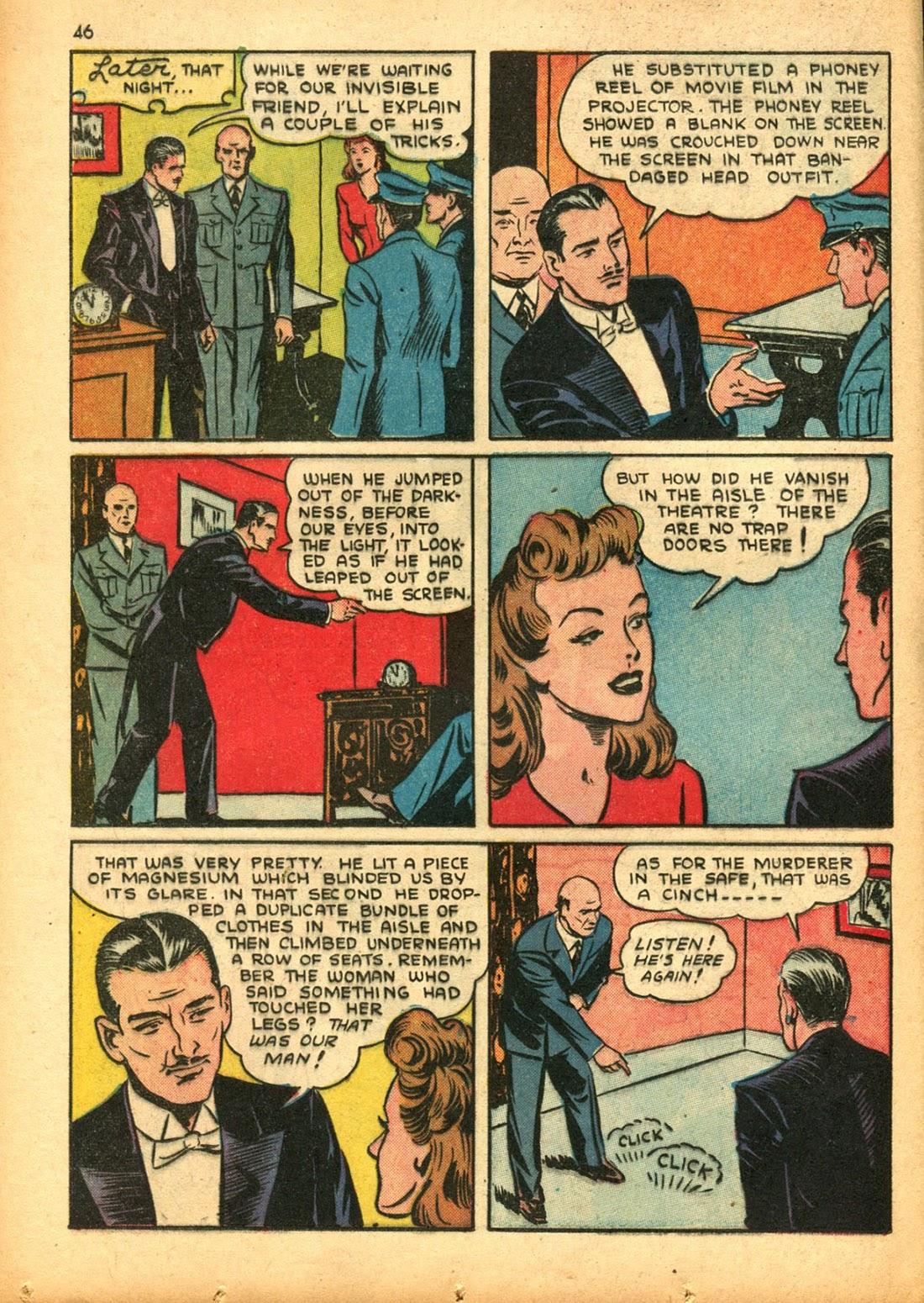 Read online Super-Magician Comics comic -  Issue #15 - 45