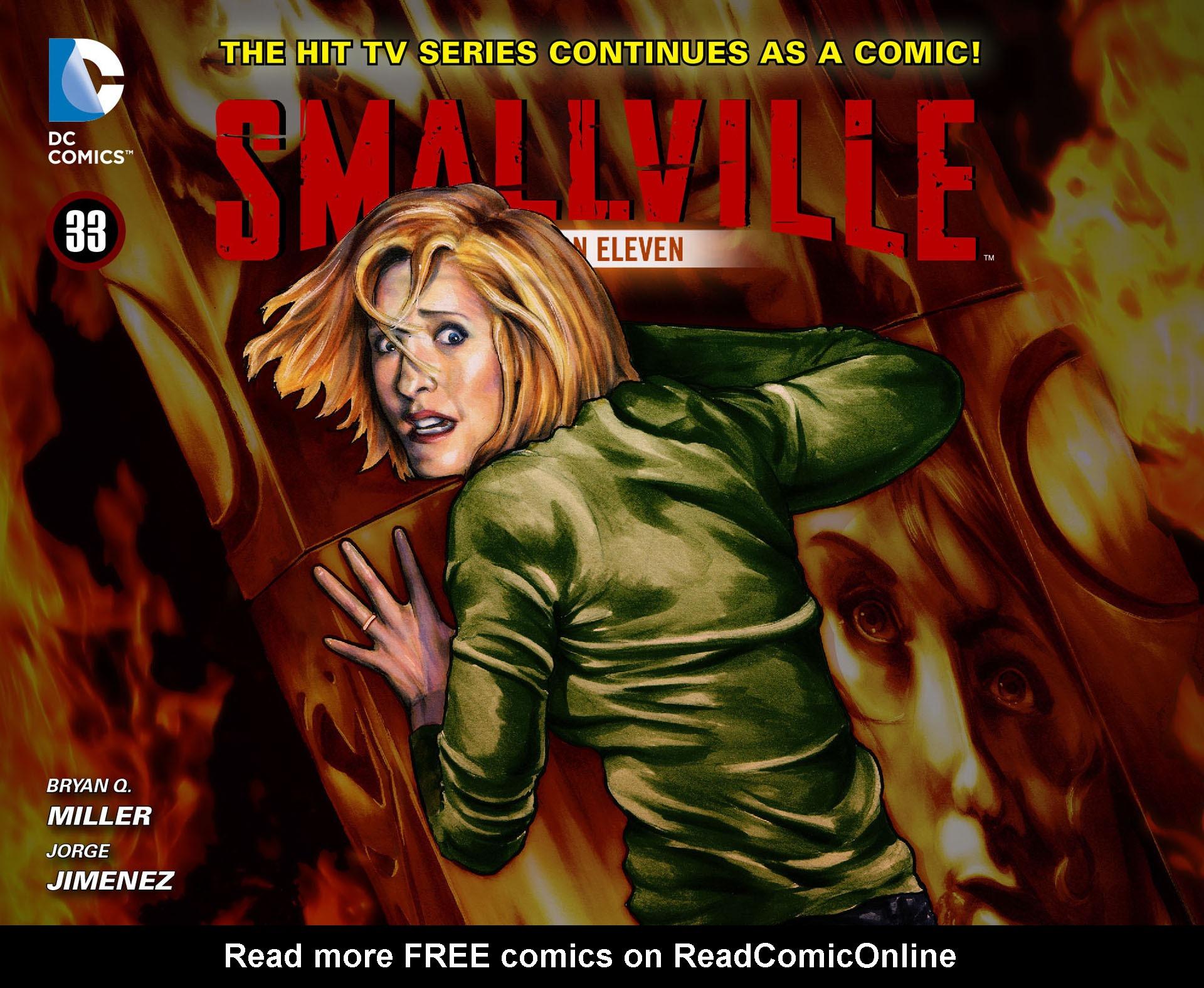 Read online Smallville: Season 11 comic -  Issue #33 - 1